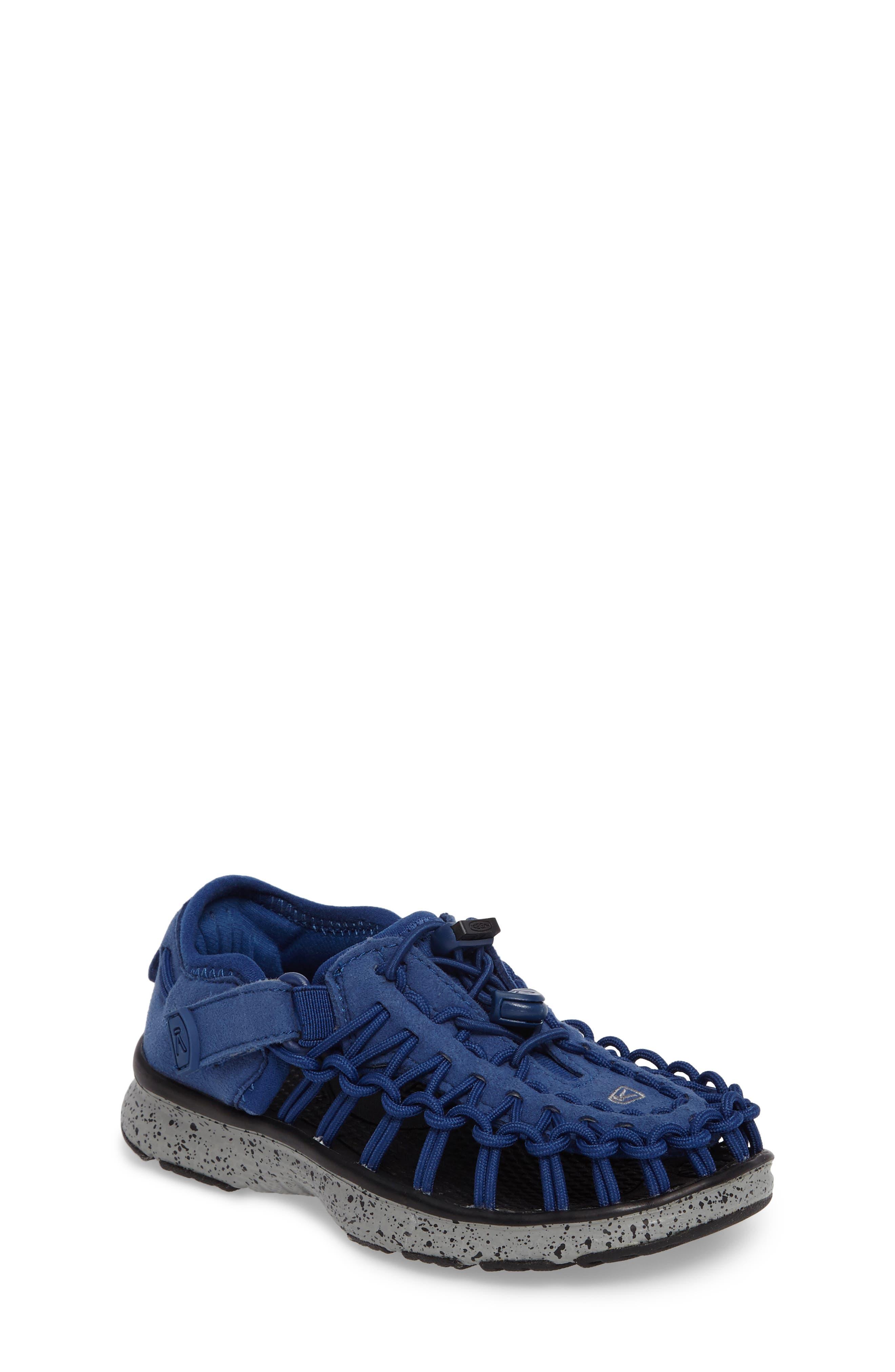 'Uneek' Water Sneaker,                             Main thumbnail 1, color,                             Blue/ Neutral Grey