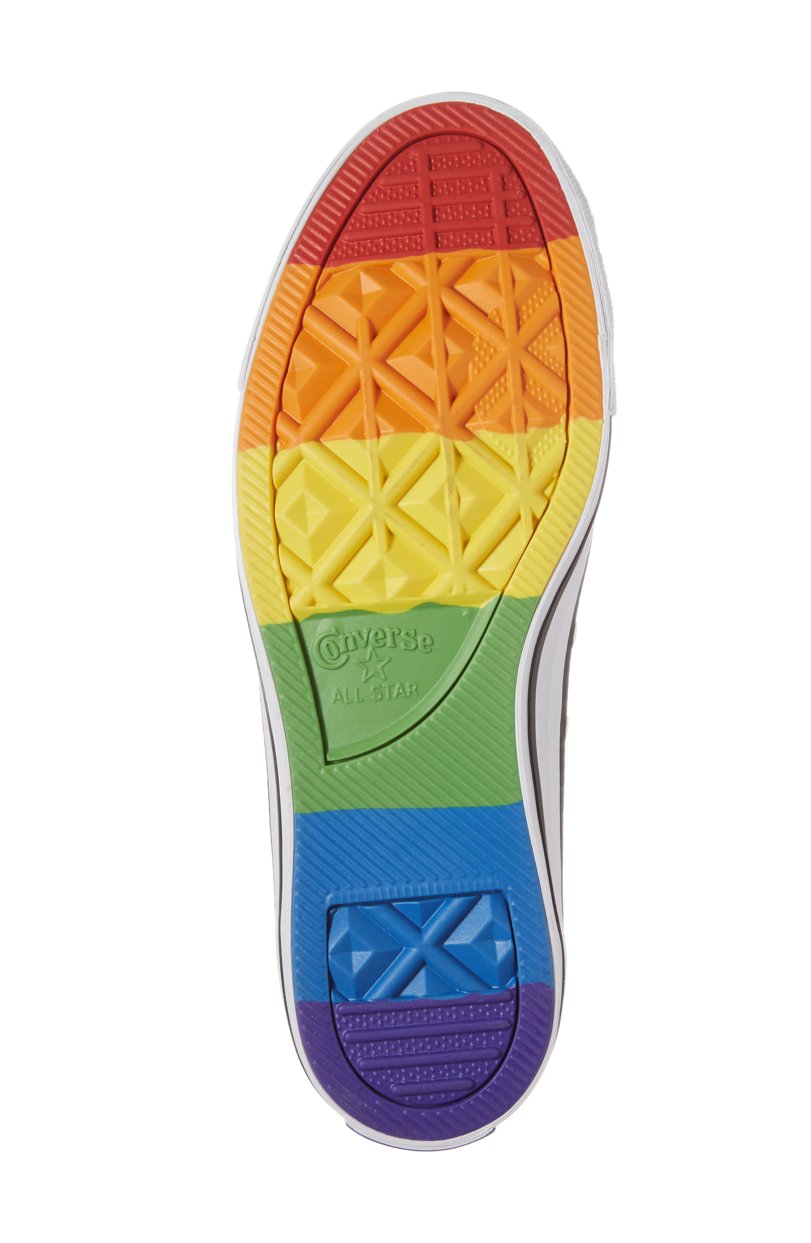 Alternate Image 6  - Converse Chuck Taylor® All Star® Pride Low Top Sneaker (Women)