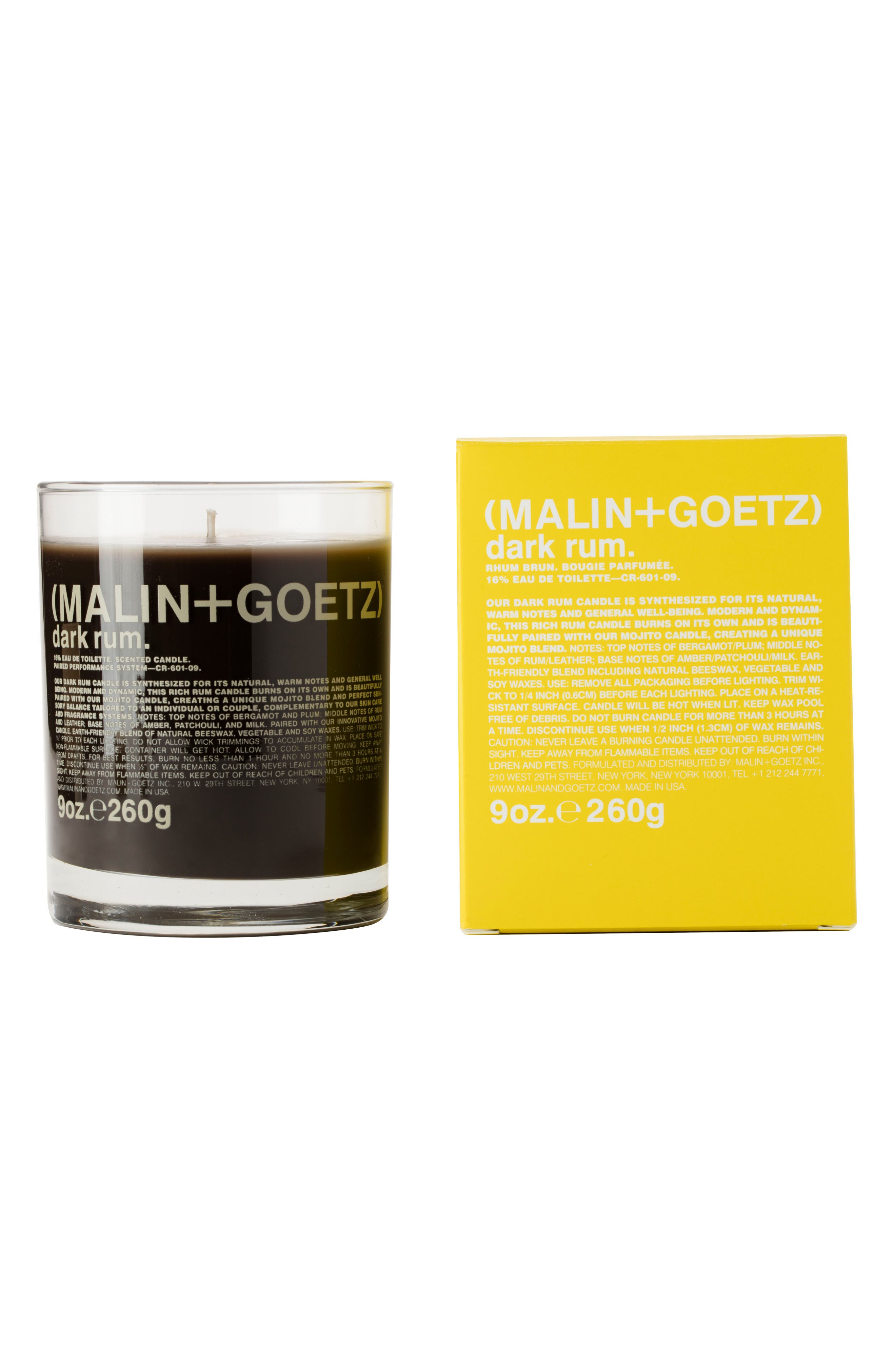 SPACE.NK.apothecary Malin + Goetz Candle