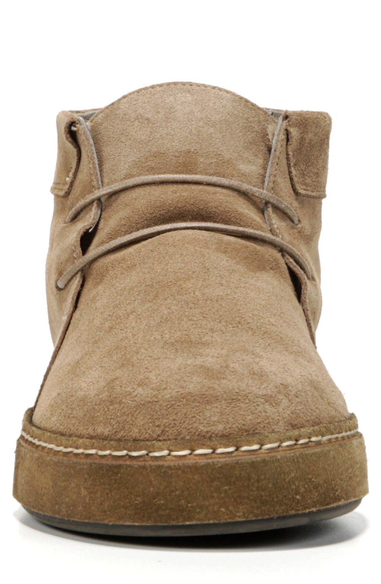 Novato Chukka Boot,                             Alternate thumbnail 4, color,                             Flint Suede