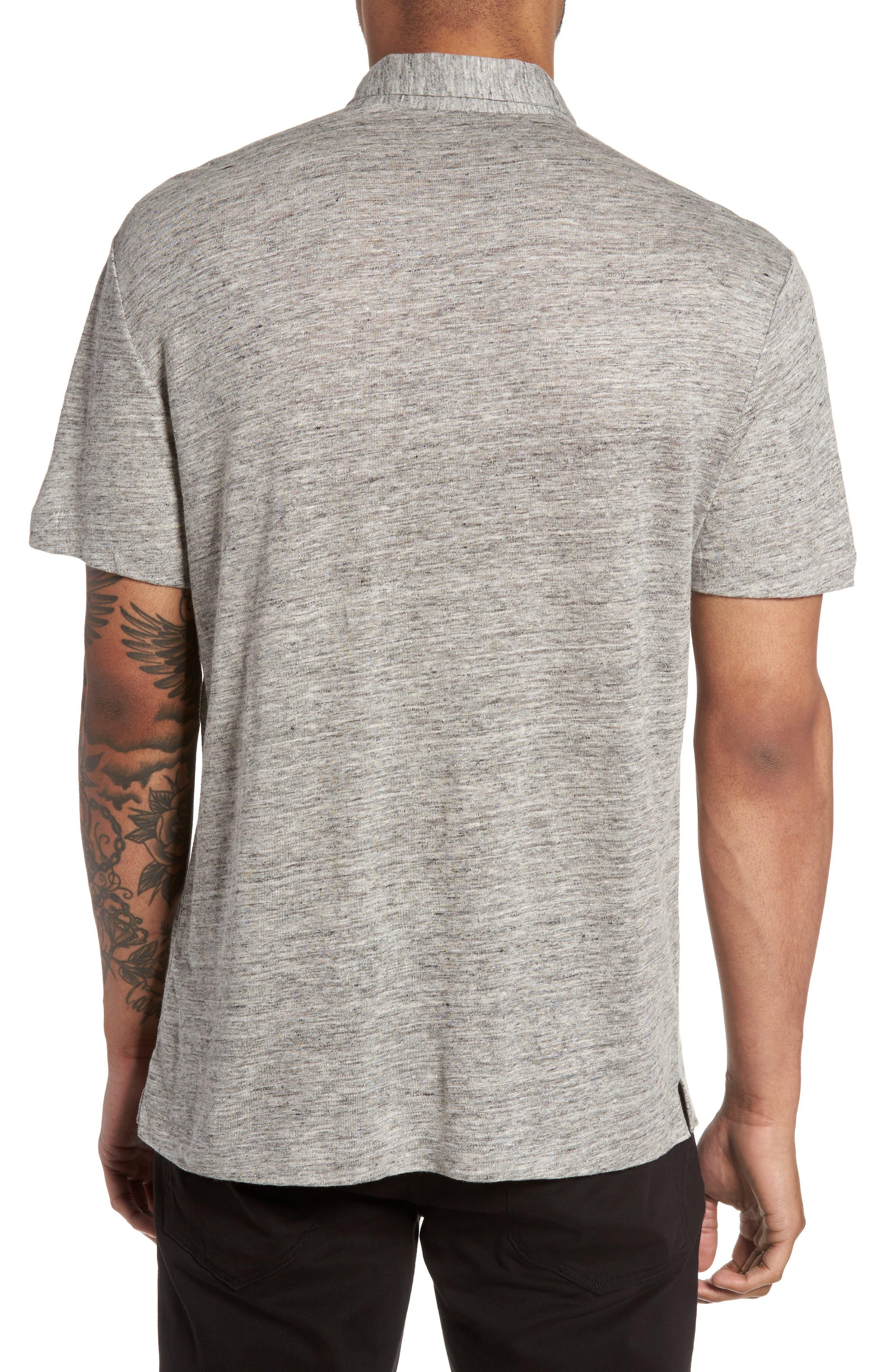 Alternate Image 2  - Theory Linen Knit Sport Shirt