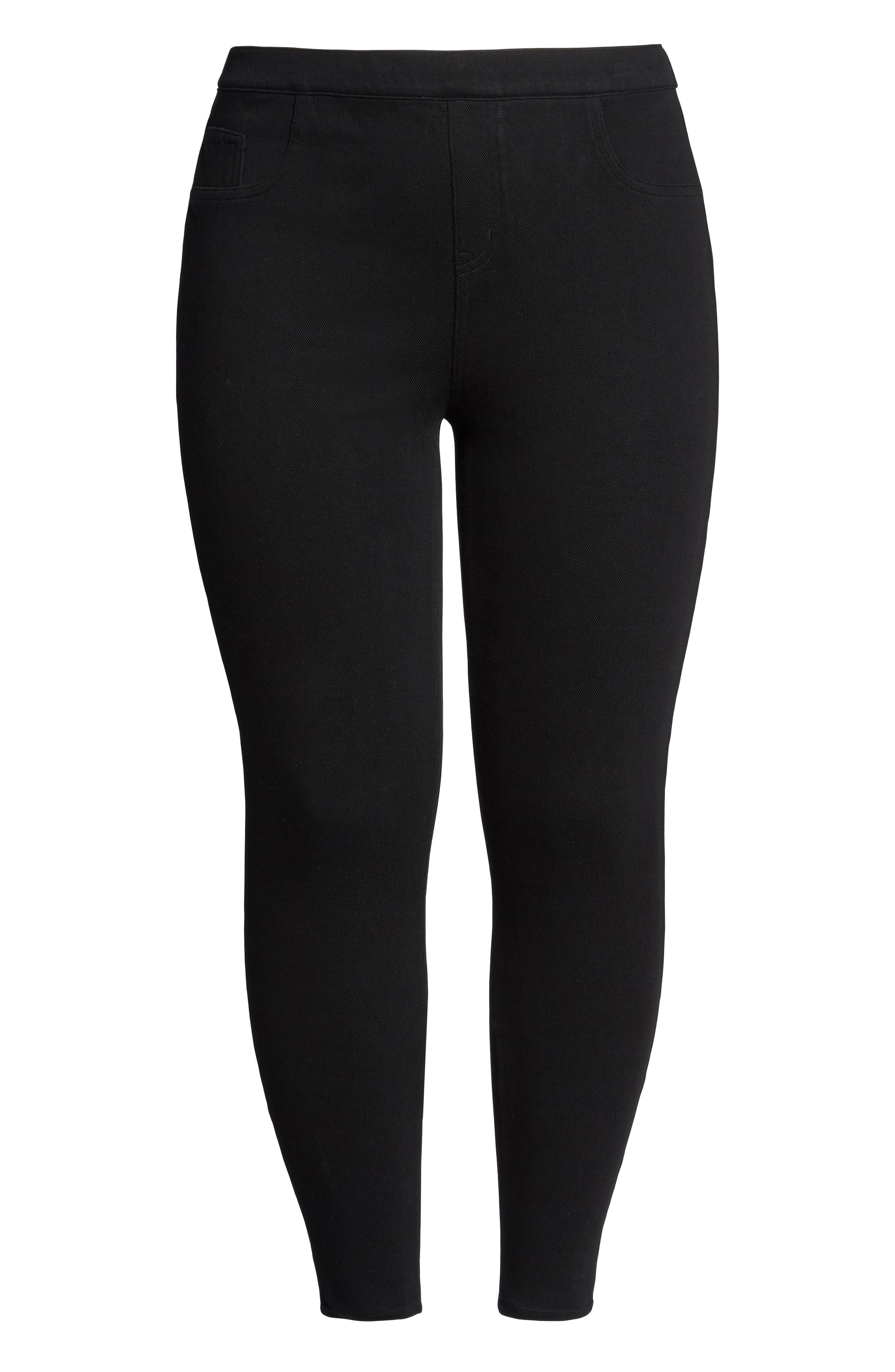 Alternate Image 4  - SPANX® Jean-ish Leggings (Plus Size)