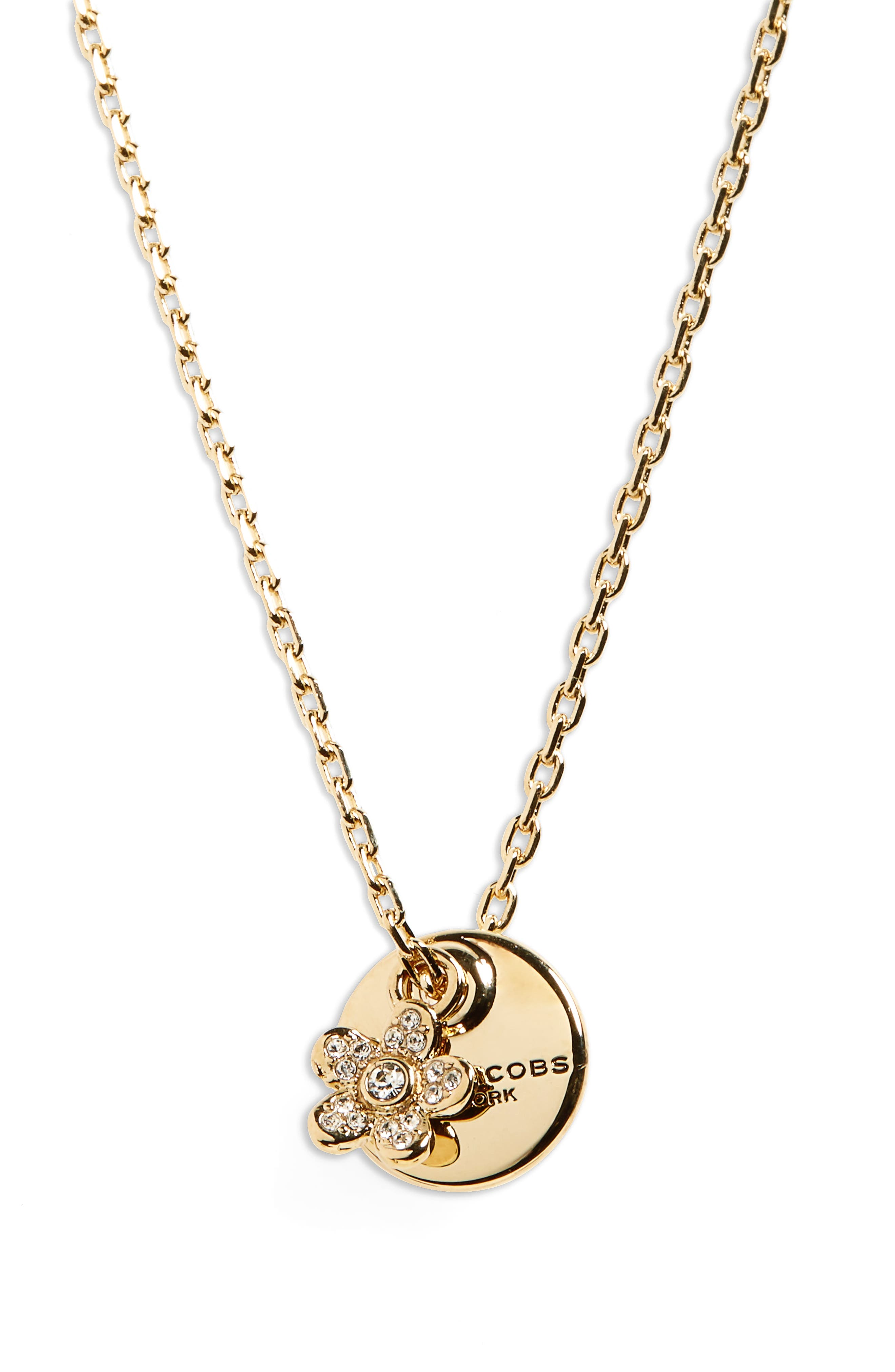 Alternate Image 1 Selected - MARC JACOBS Pendant Necklace