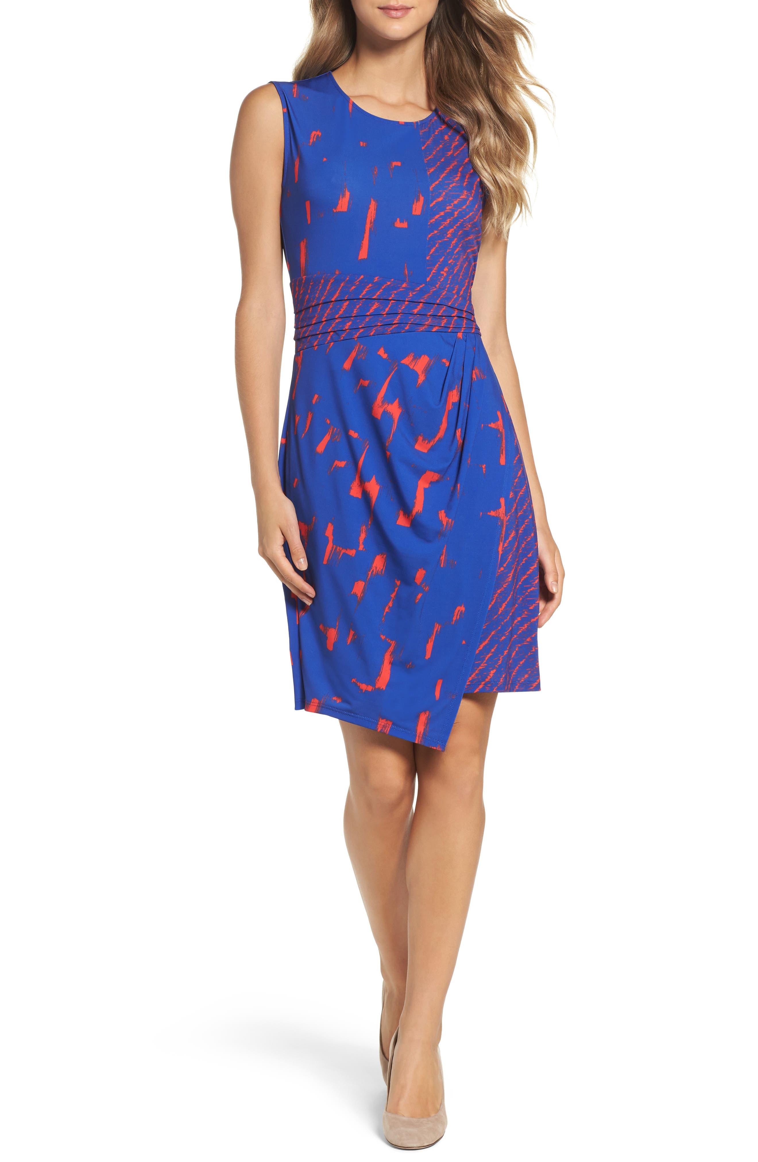 BCBGMAXAZRIA Natala Asymmetrical Dress