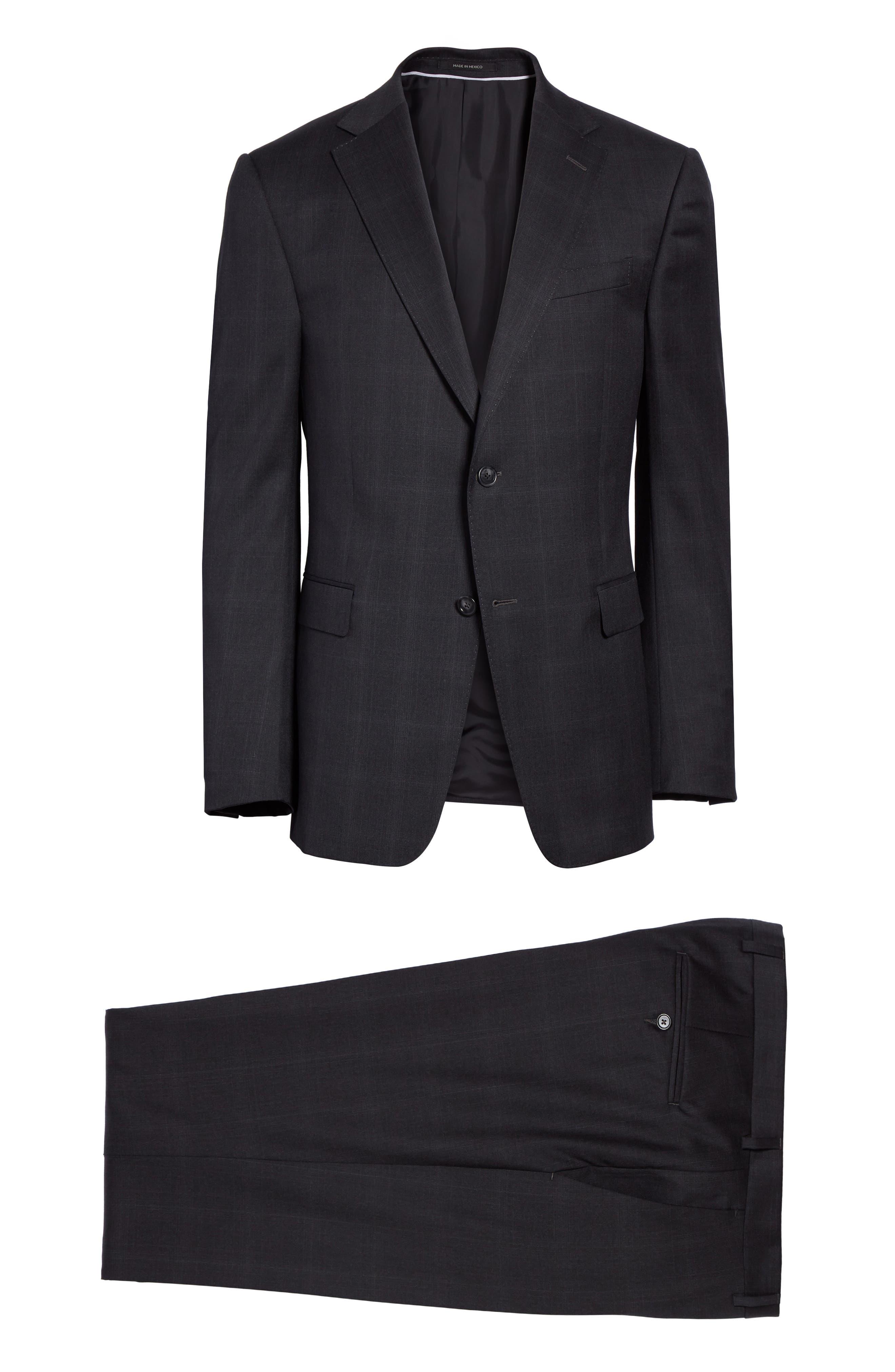 Alternate Image 8  - Z Zegna Drop 7 Trim Fit Plaid Wool Suit