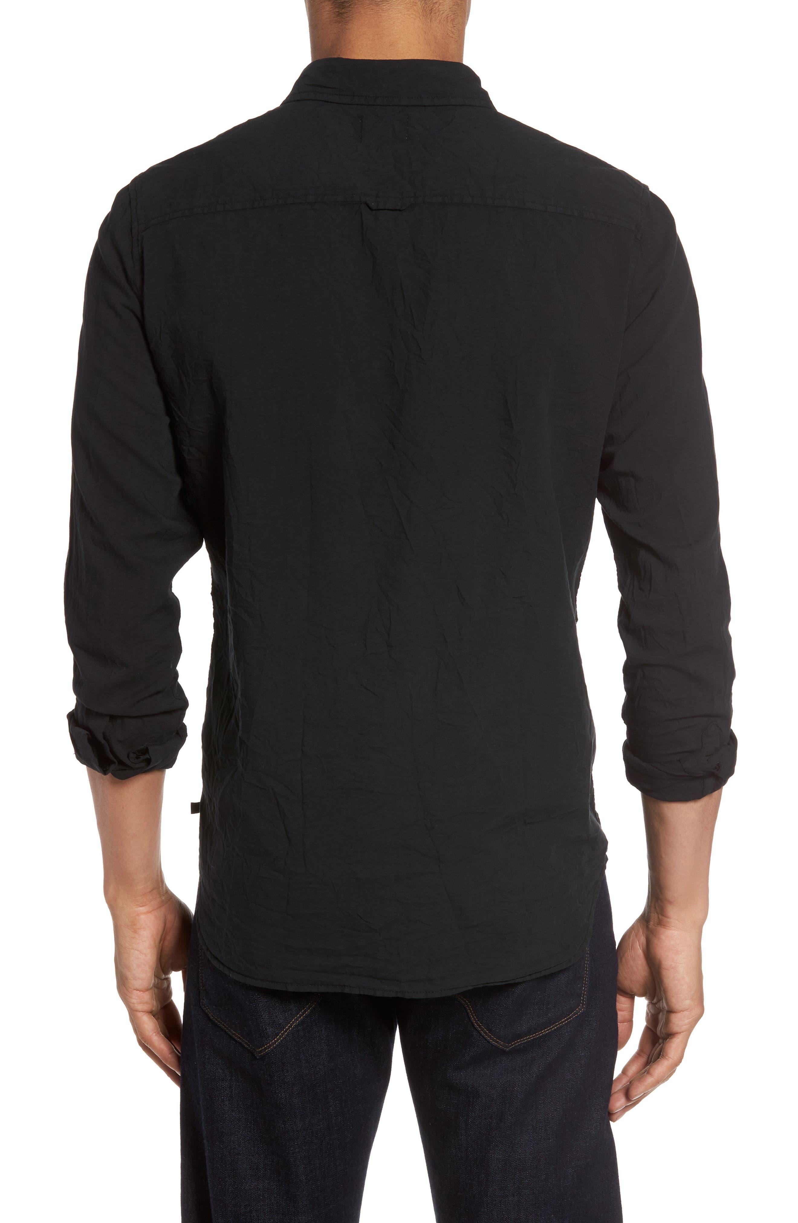Alternate Image 2  - AG Grady Slim Fit Organic Cotton Sport Shirt