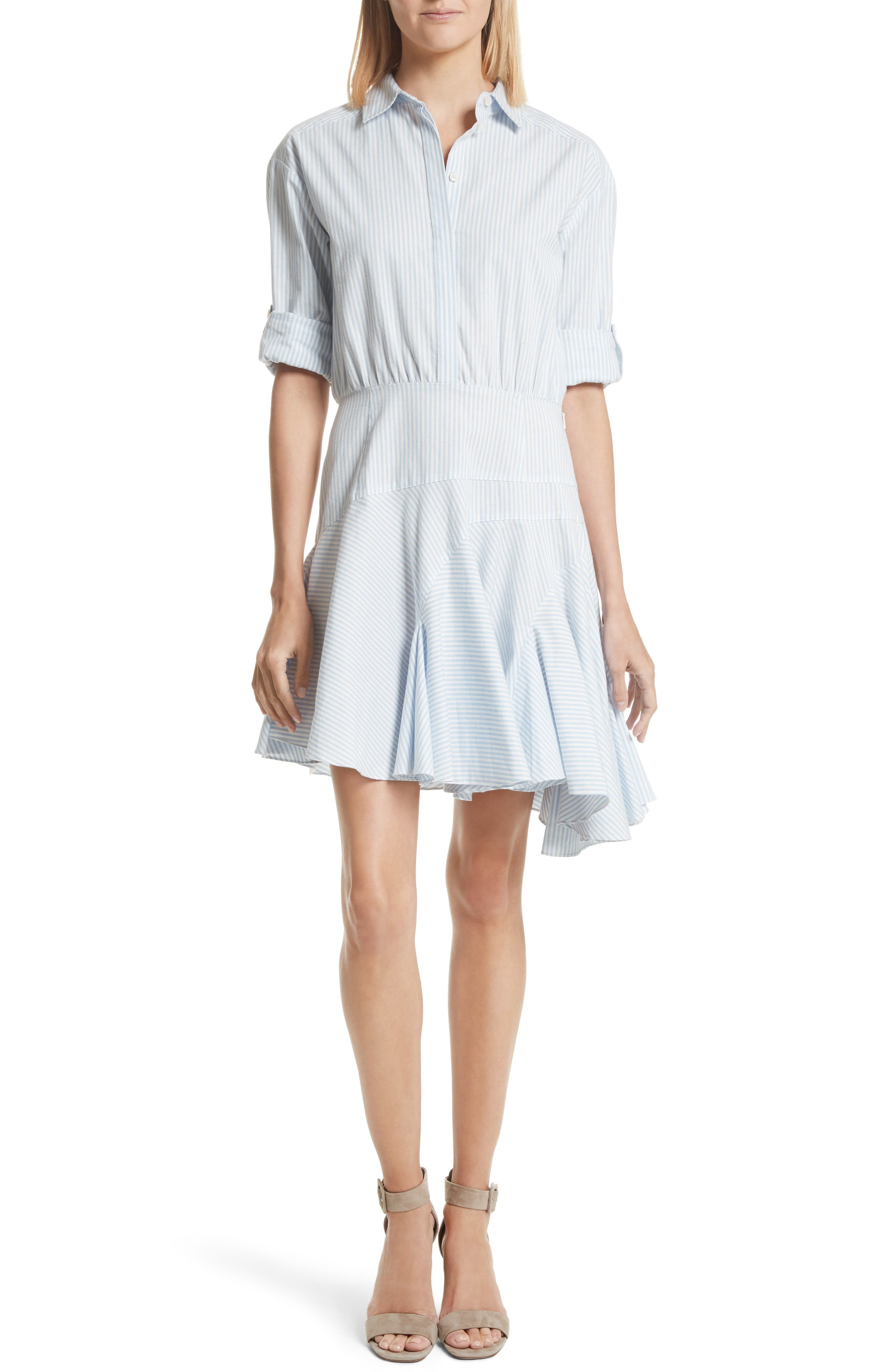 GREY Jason Wu Stripe Cotton Dress