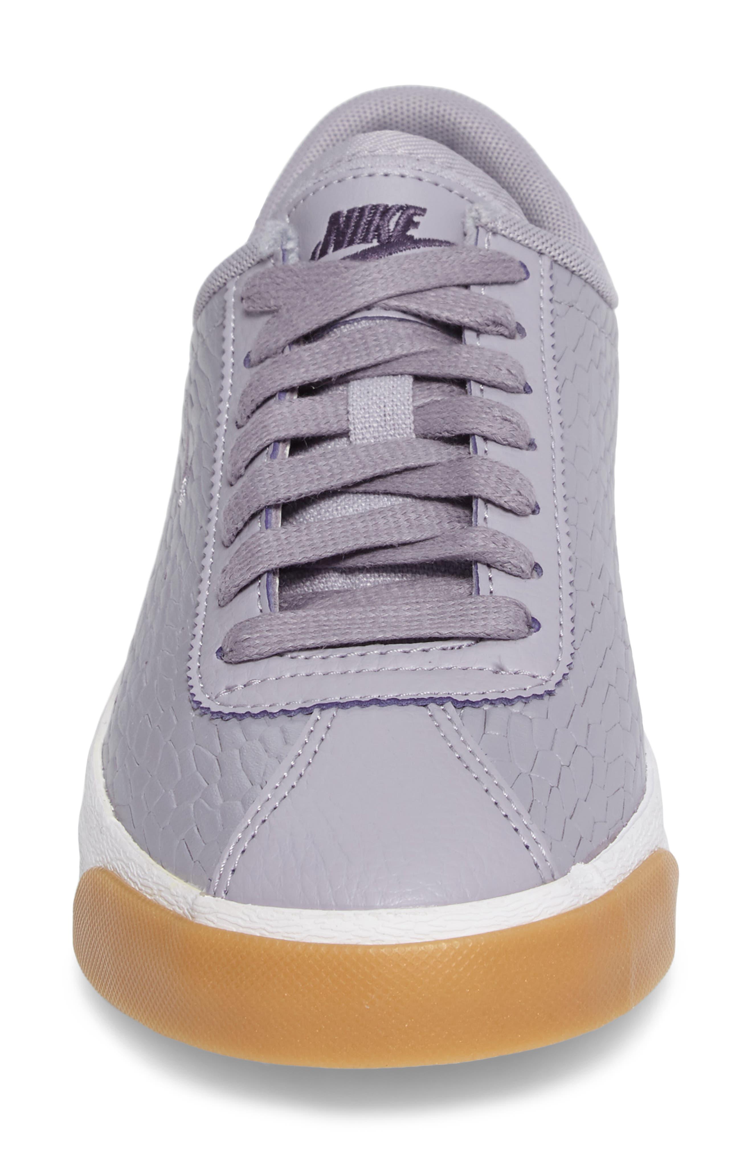 Match Classic Sneaker,                             Alternate thumbnail 4, color,                             Provence Purple/ Purple