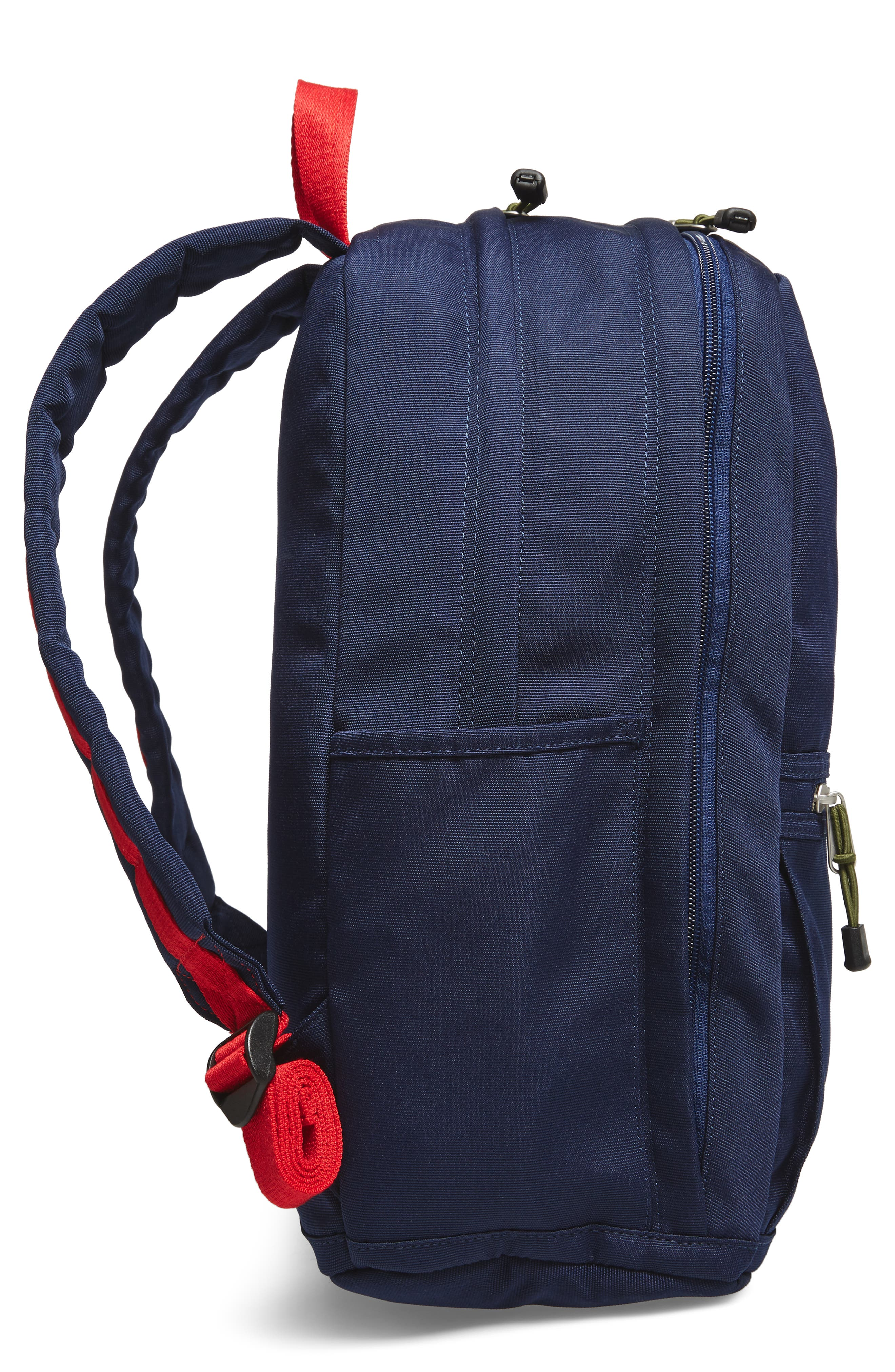 Williamsburg Bedford Backpack,                             Alternate thumbnail 5, color,                             Navy