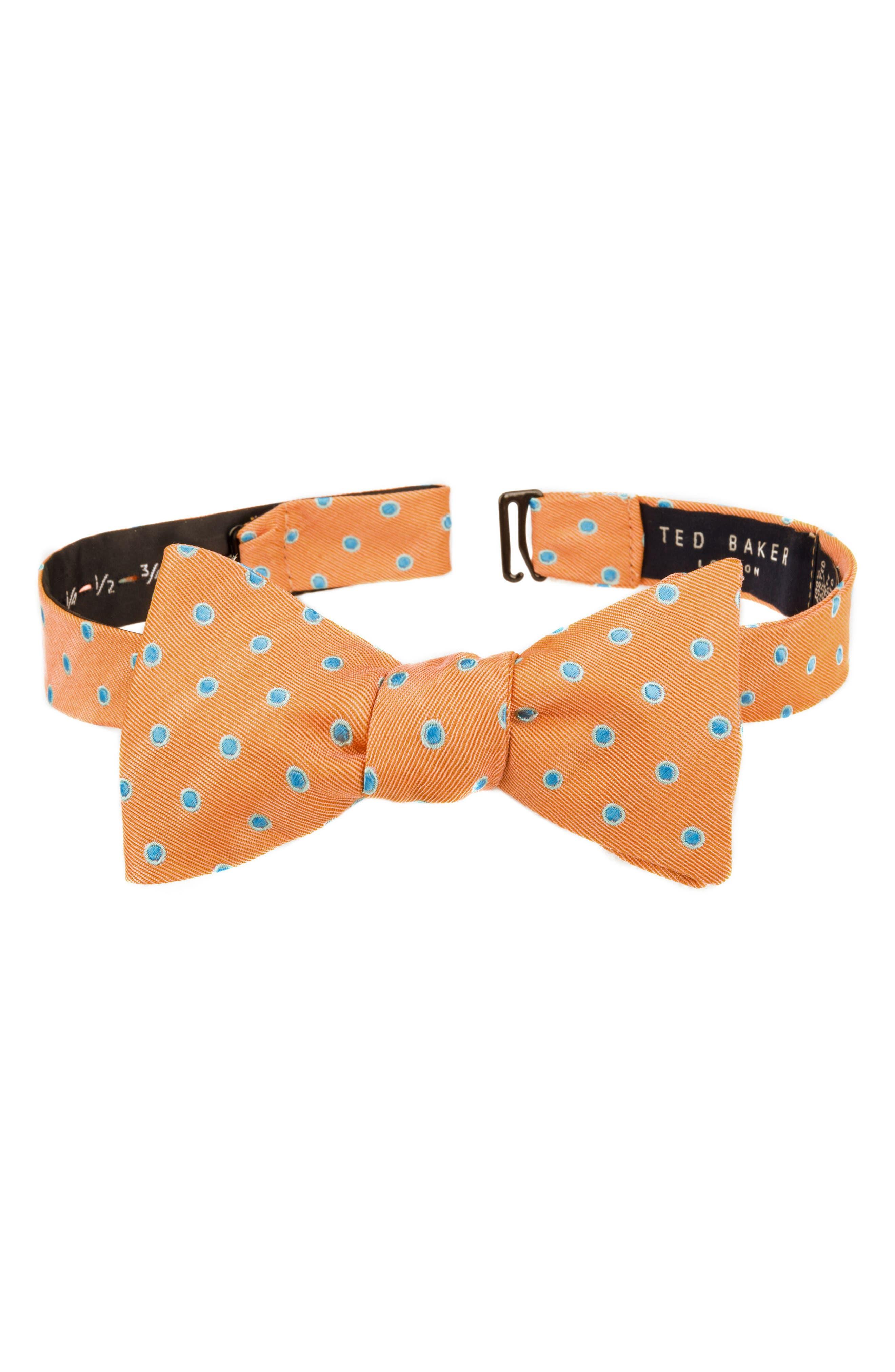 Ted Baker London Paddington Dot Silk Bow Tie