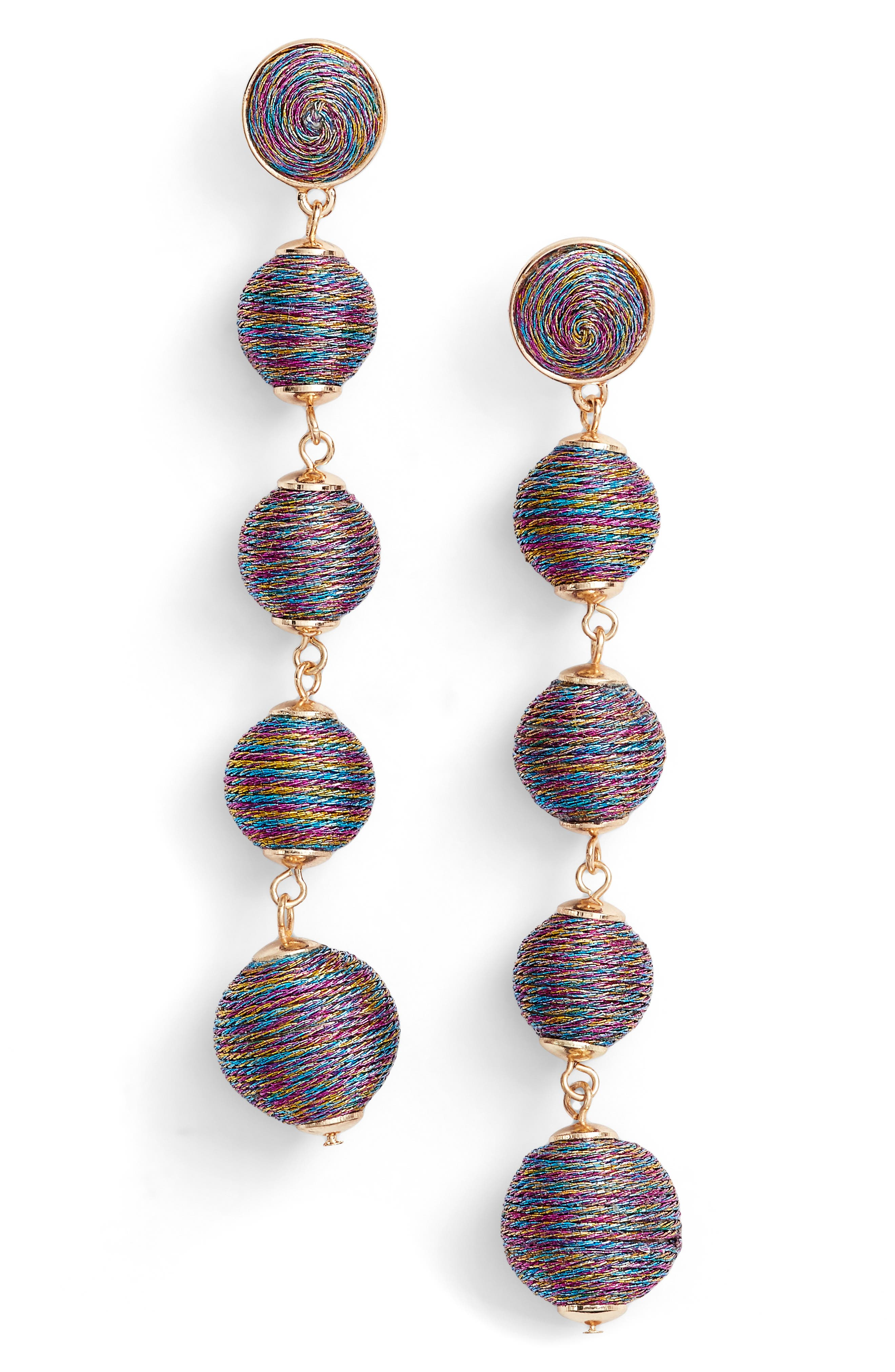 Baublebar Metallic Crispin Ball Statement Earrings