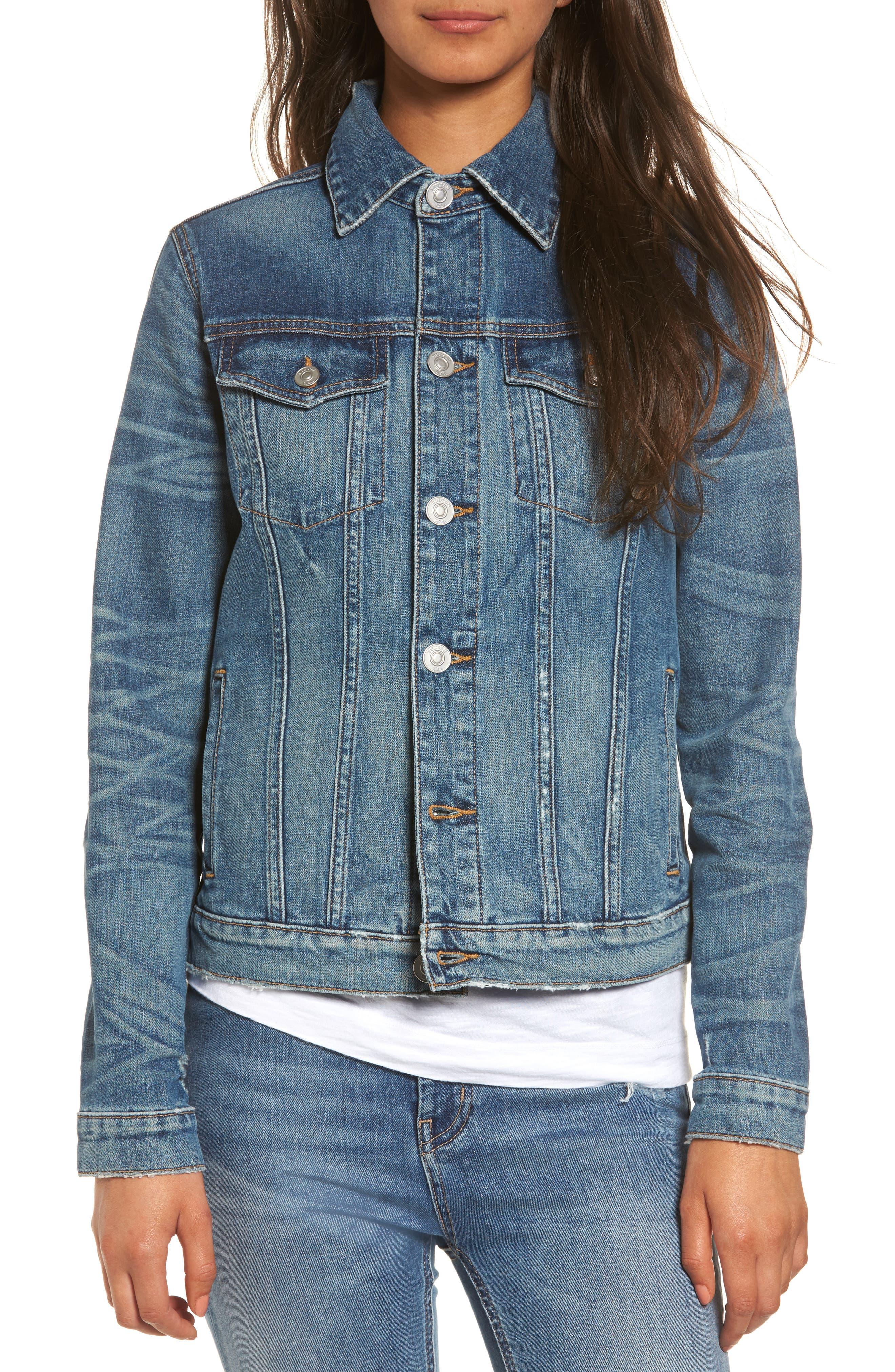 Hudson Jeans Classic Denim Jacket (Distinction)