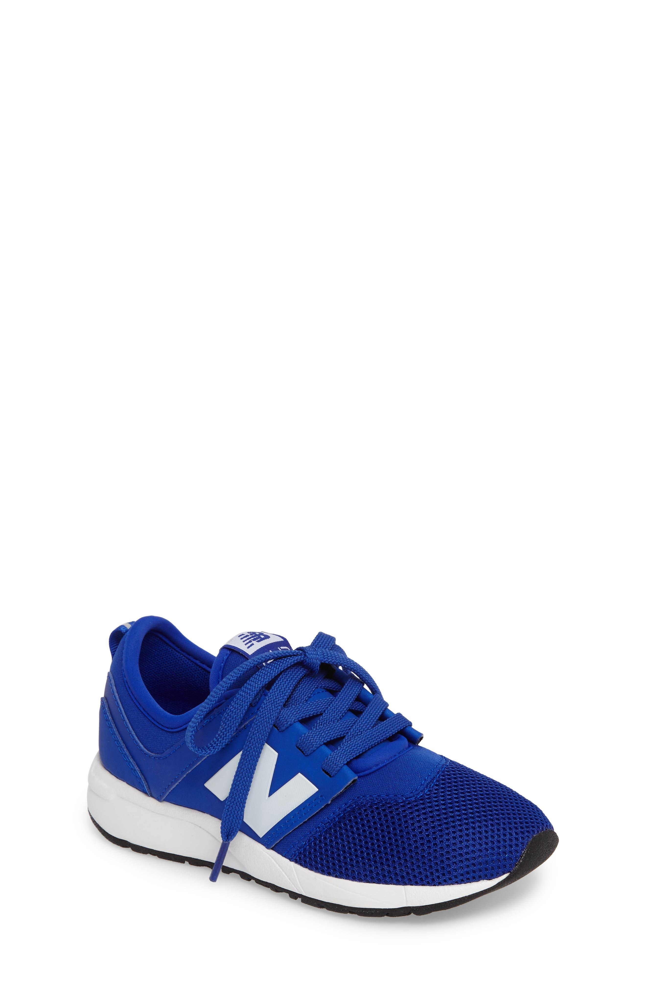 247 Core Sneaker,                         Main,                         color, Blue/ White