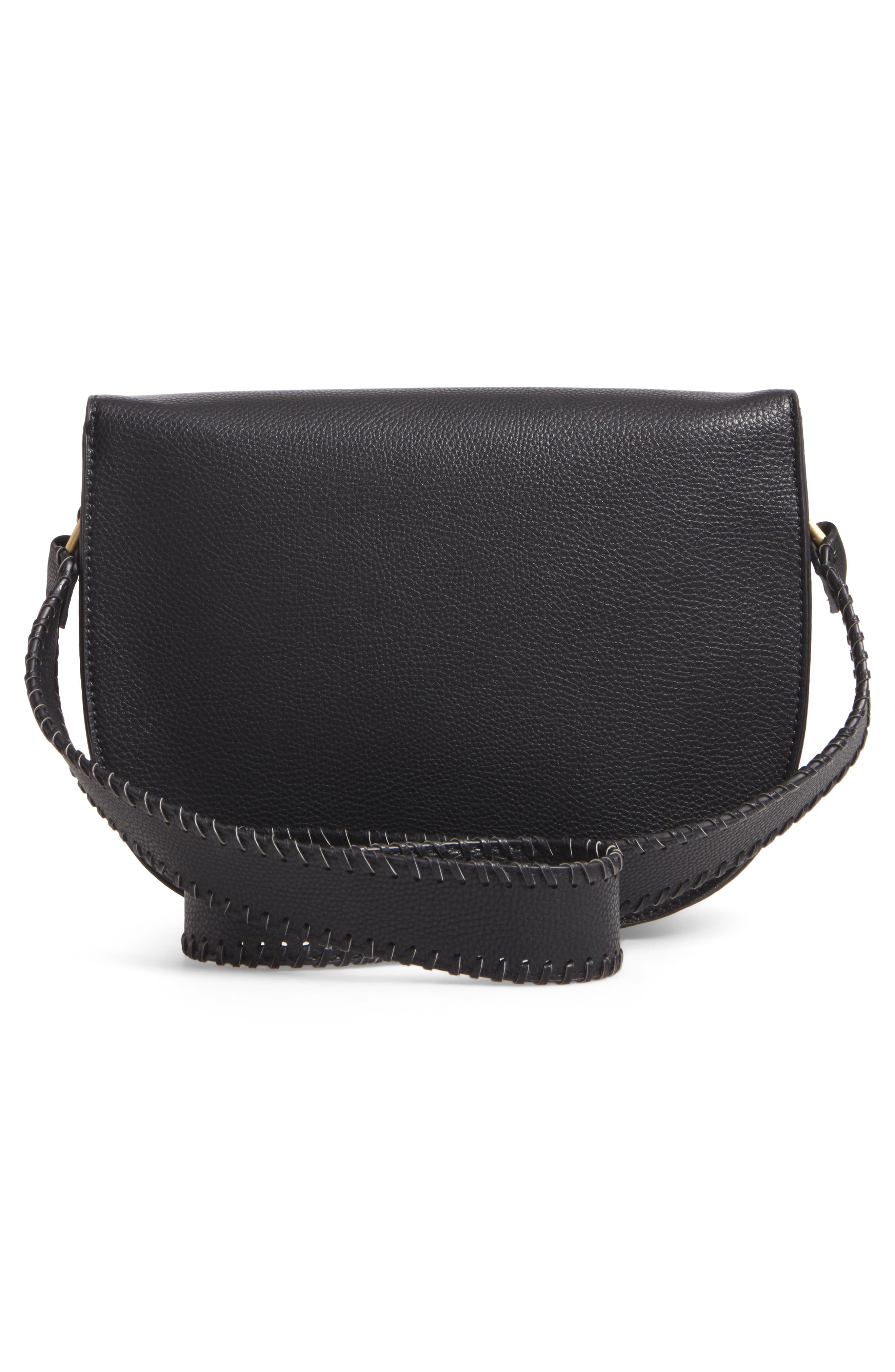 Alternate Image 2  - Sole Society Honor Faux Leather Messenger Bag