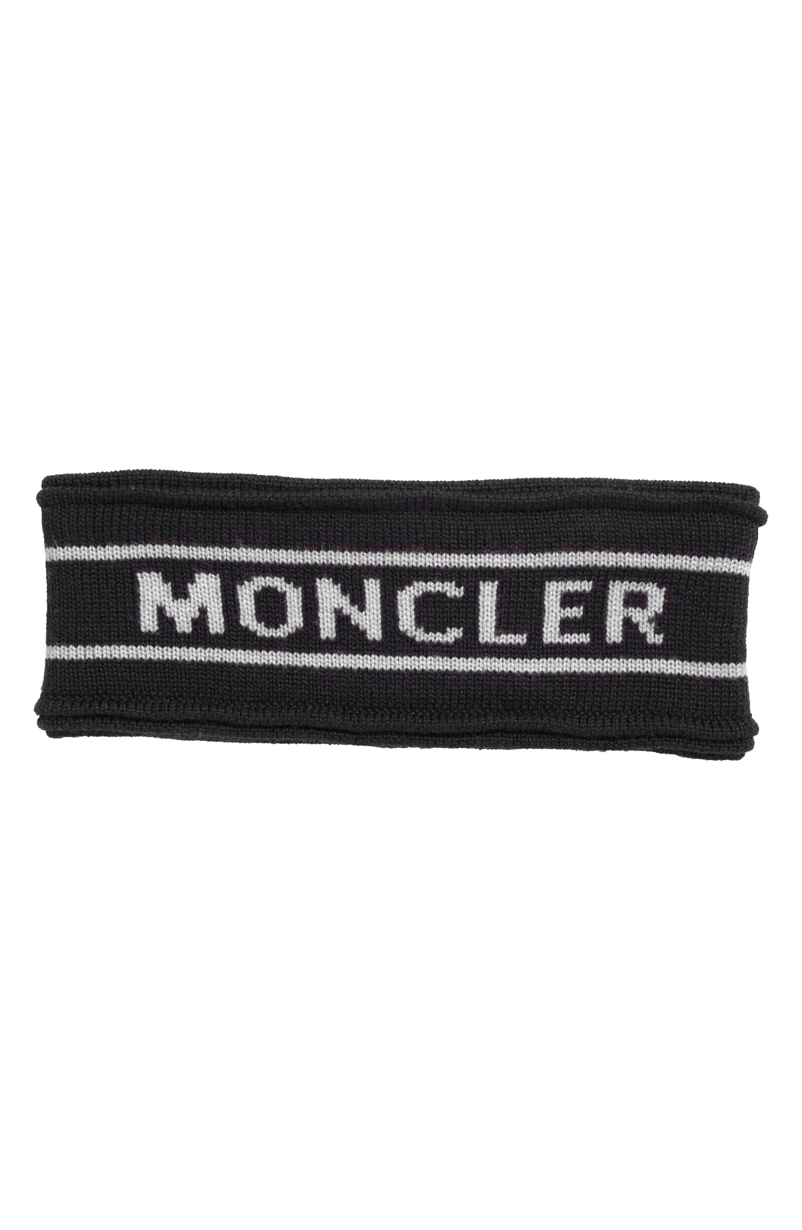 Wool Headband,                         Main,                         color, Black