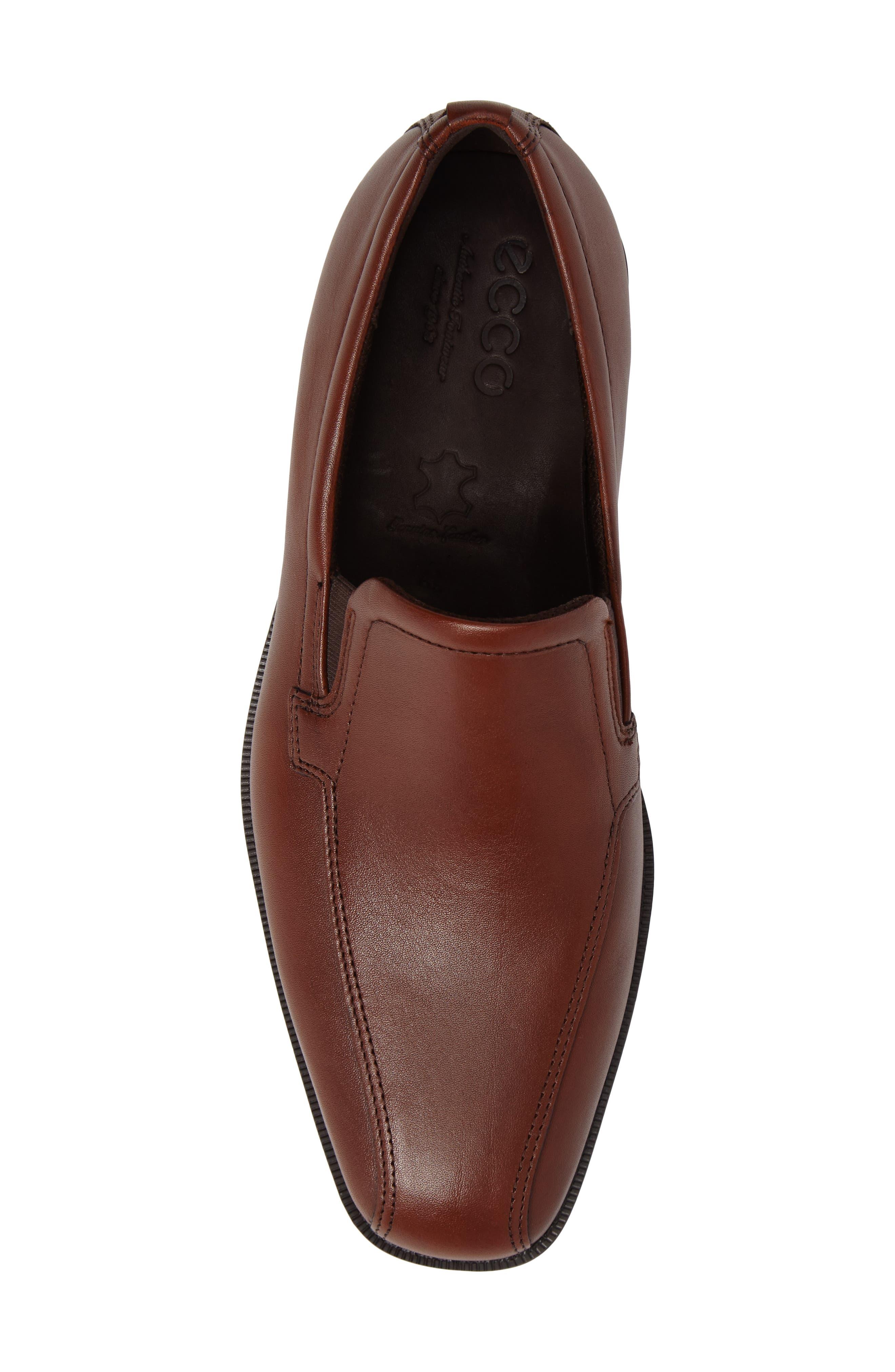 Edinburgh Venetian Loafer,                             Alternate thumbnail 5, color,                             Cognac Leather