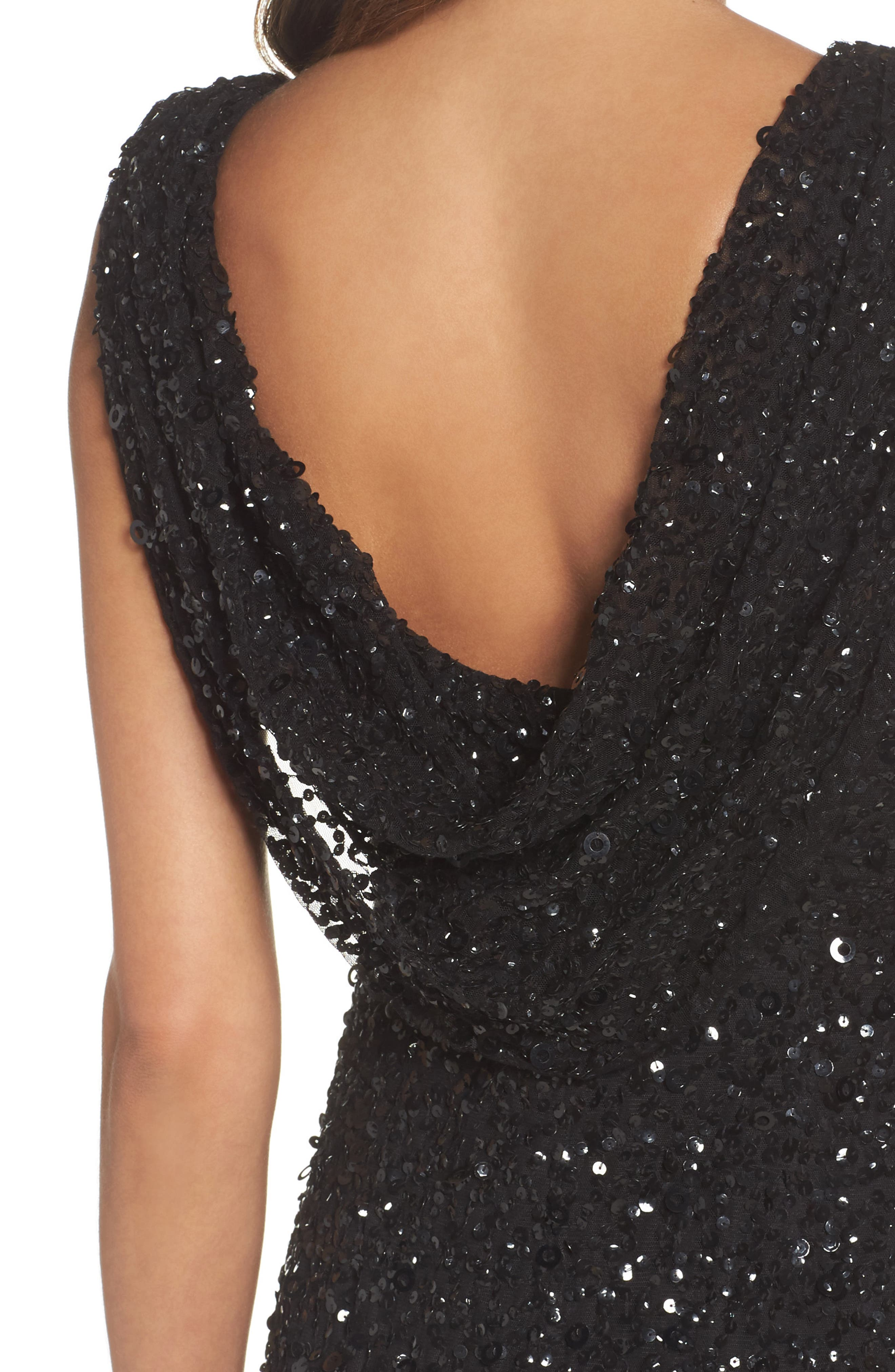 Alternate Image 4  - Adrianna Papell Drape Back Gown