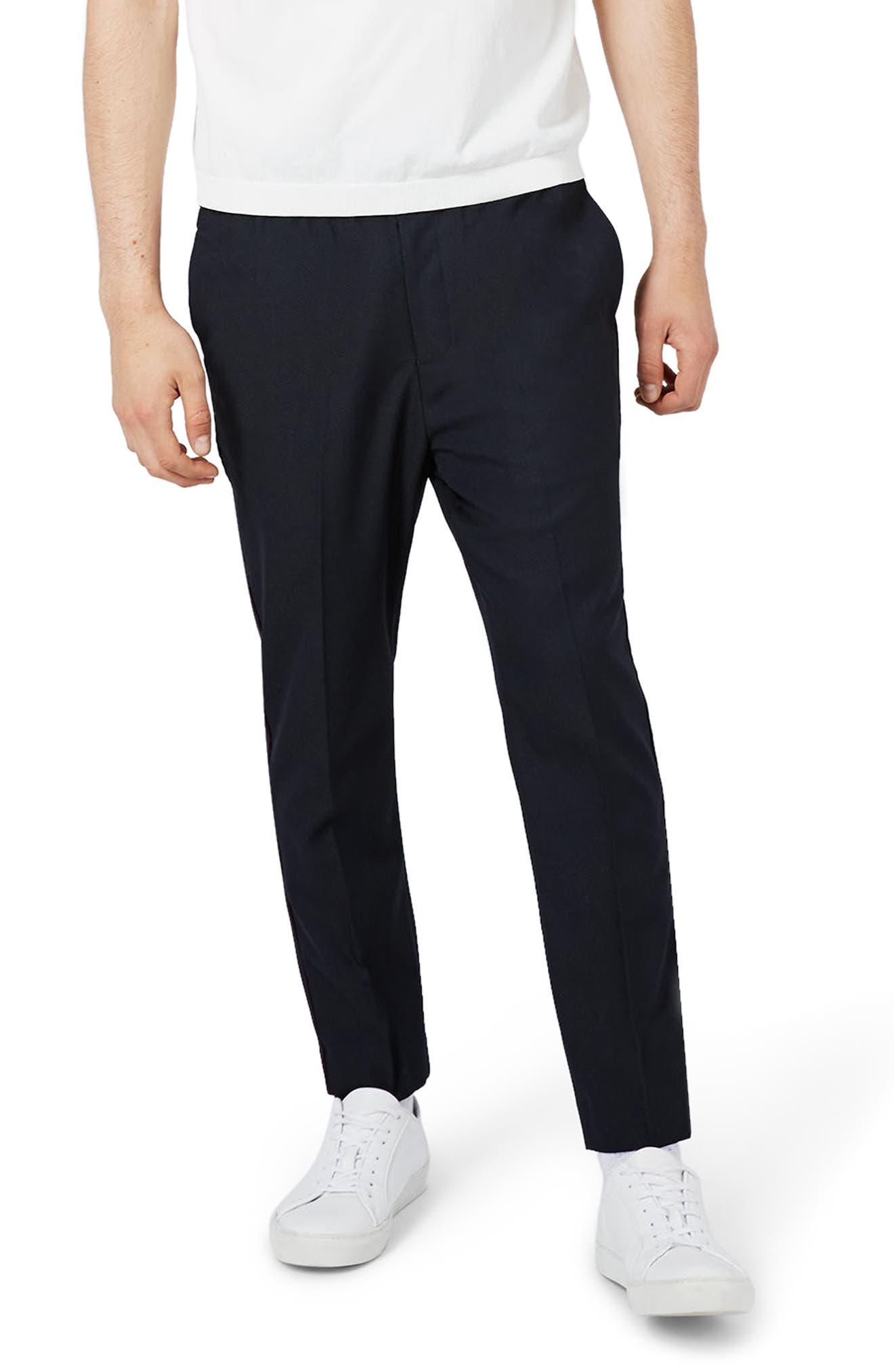 Topman Piped Crop Jogger Pants