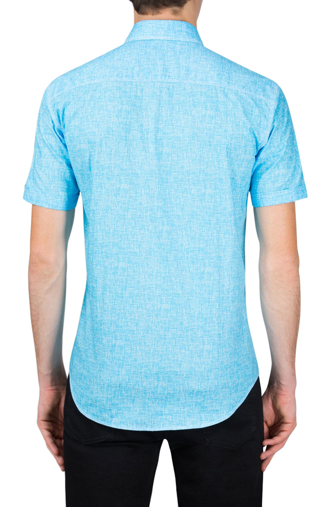 Classic Fit Solid Sport Shirt,                             Alternate thumbnail 2, color,                             Ice