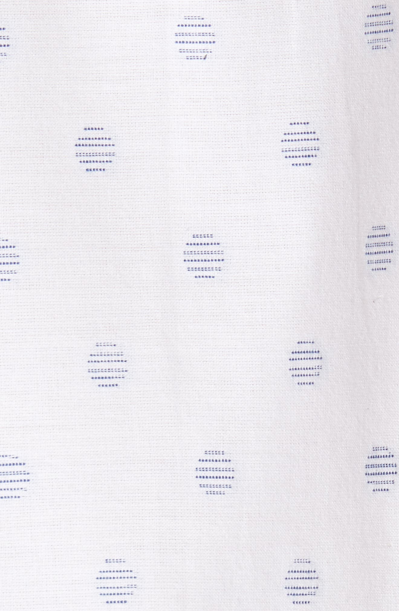 Cruisin Dobby Woven Shirt,                             Alternate thumbnail 5, color,                             White