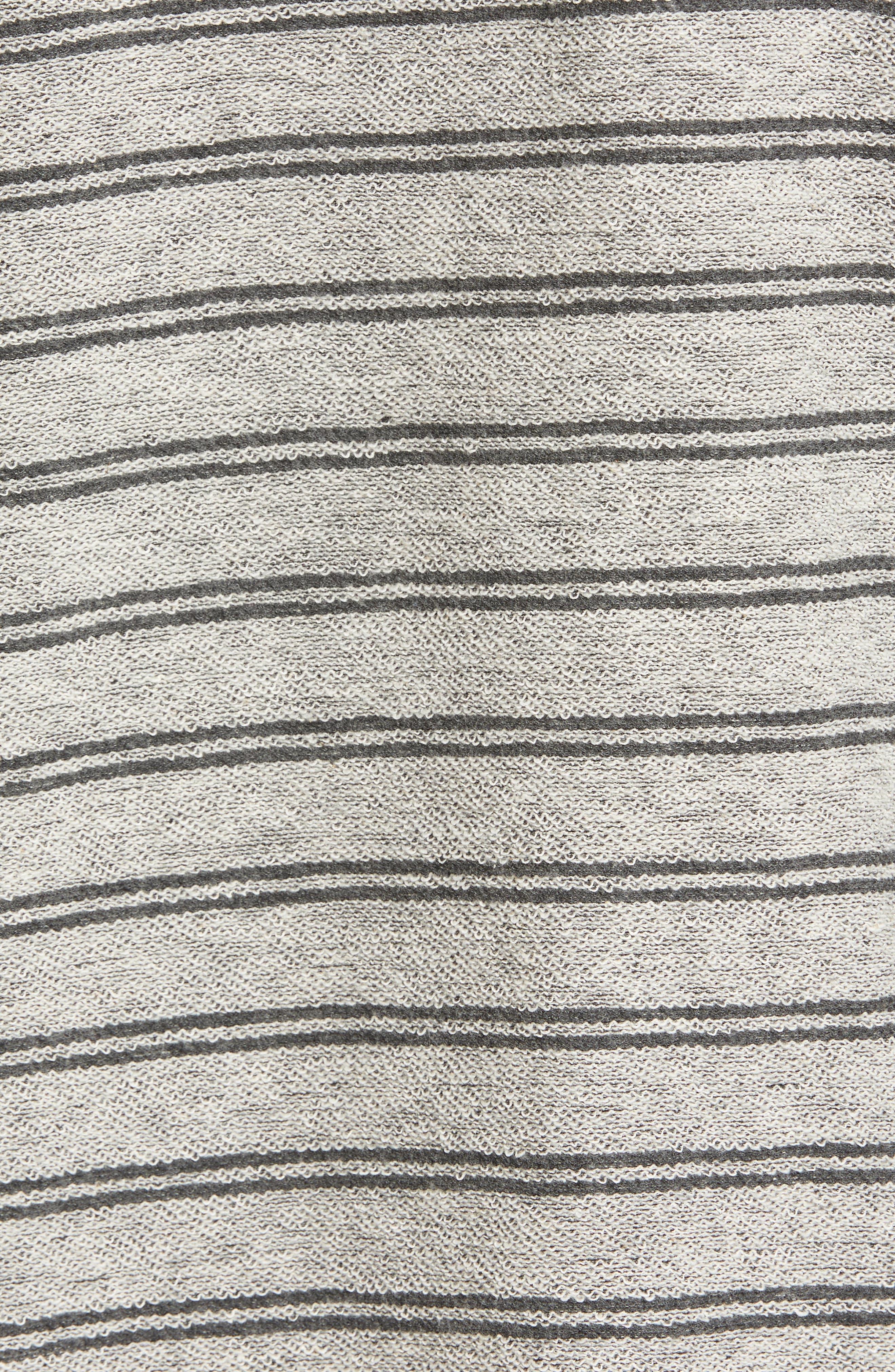 Flecker Stripe Hoodie,                             Alternate thumbnail 5, color,                             Asphalt