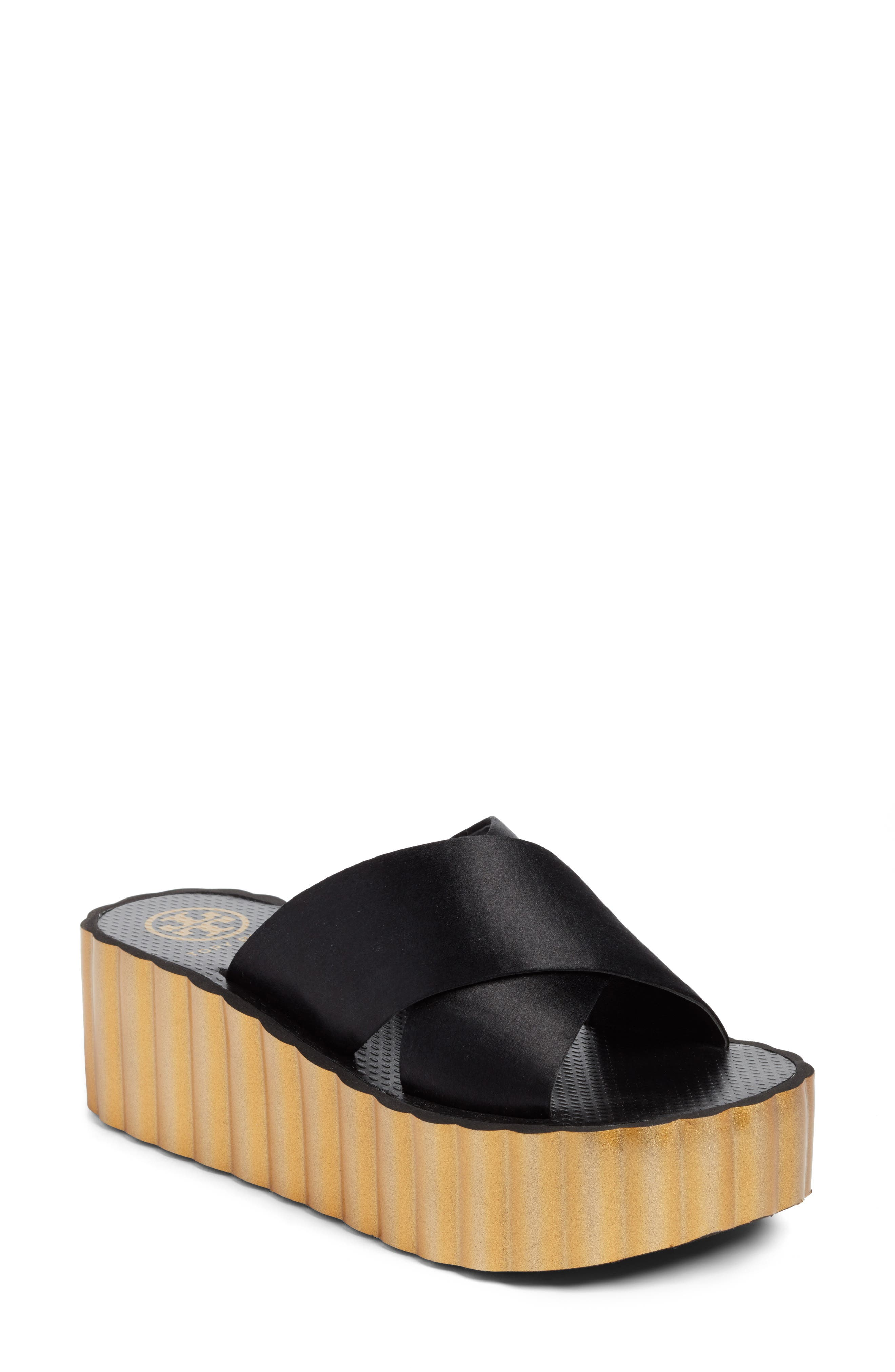 Tory Burch Scallop Platform Sandal (Women)