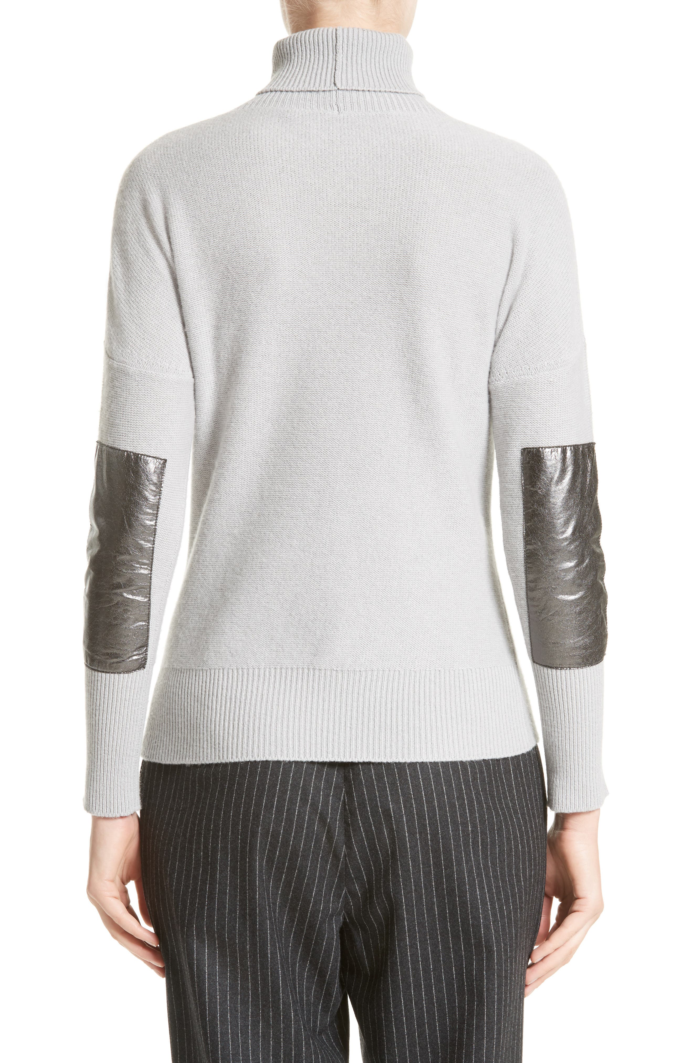 Alternate Image 2  - Fabiana Filippi Wool, Silk & Cashmere Knit Turtleneck