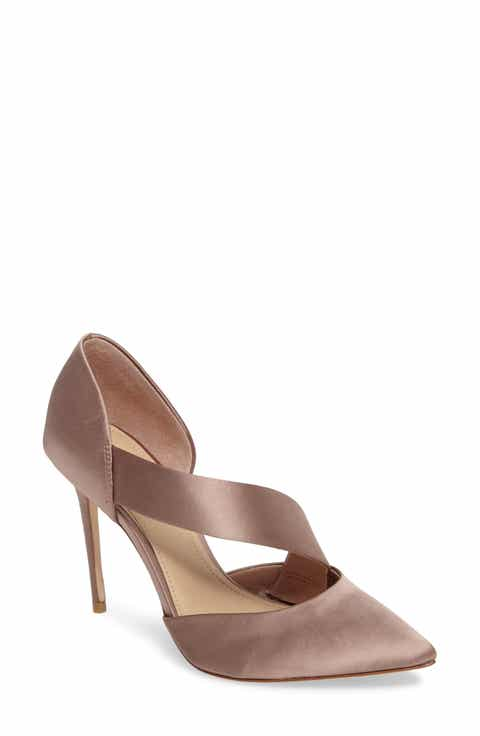 Imagine By Vince Camuto Oya Asymmetrical Pointy Toe Pump Women