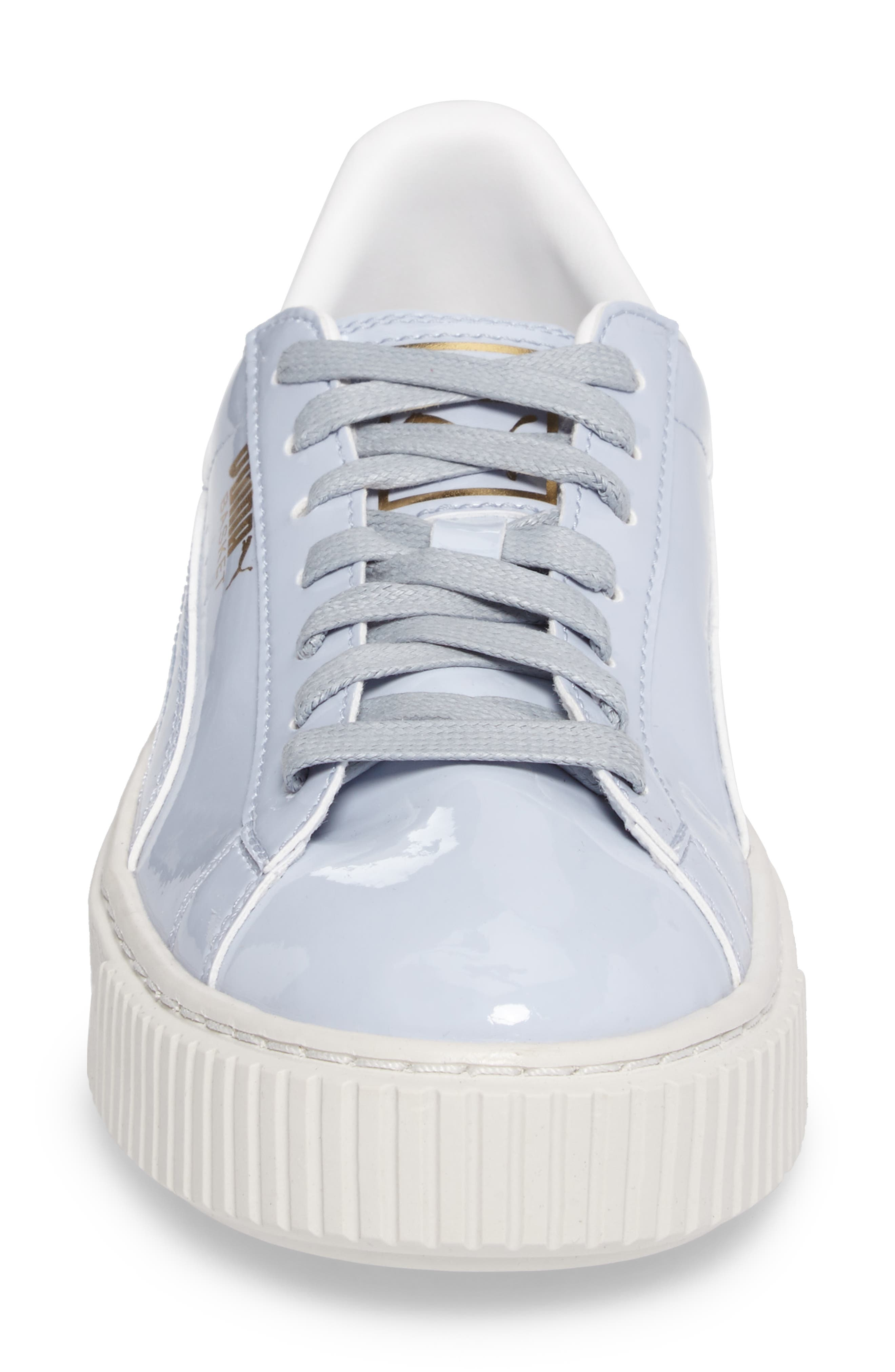 Alternate Image 4  - PUMA Basket Platform Sneaker (Women)