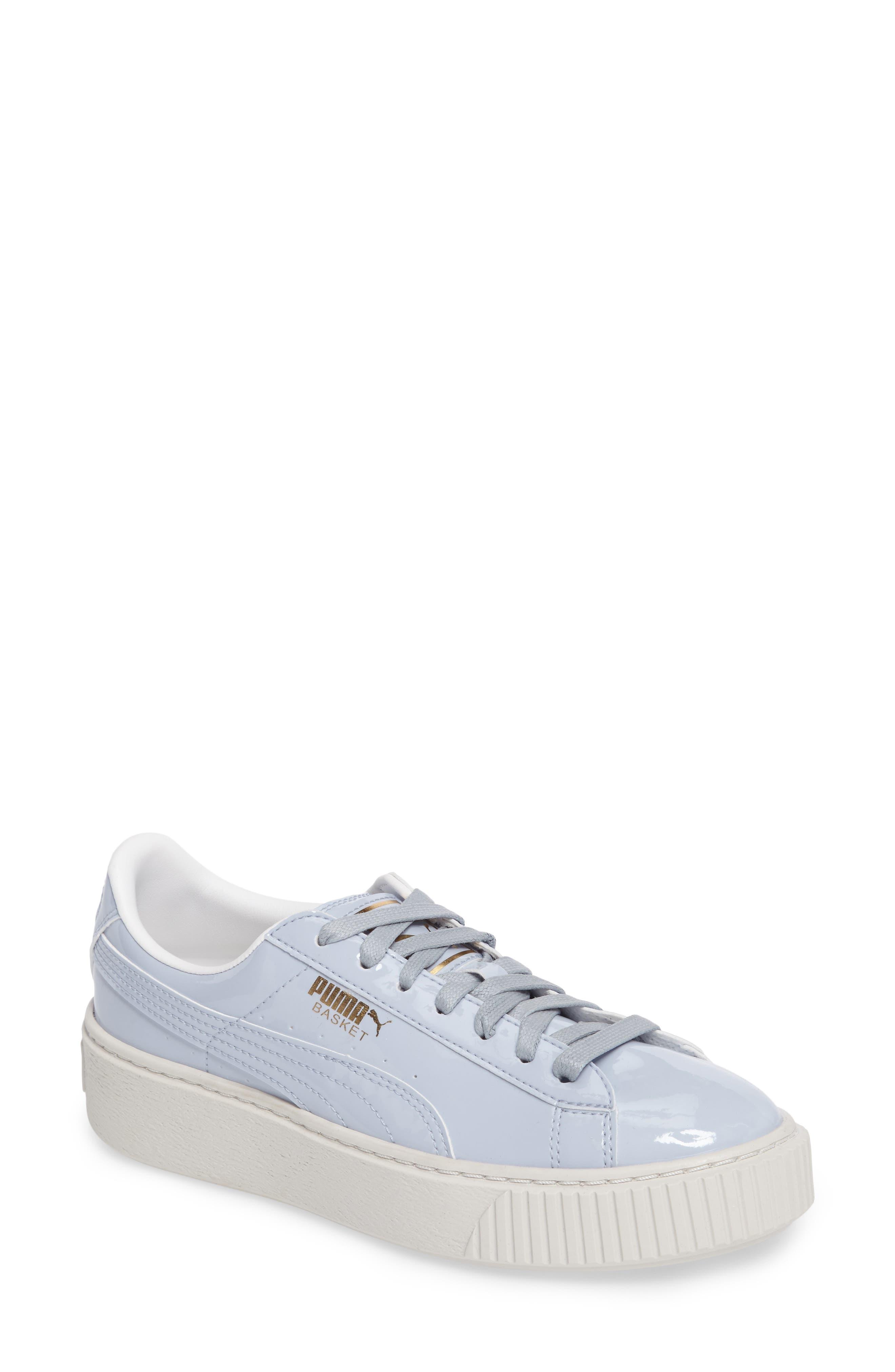 Basket Platform Sneaker,                             Main thumbnail 1, color,                             Halogen Blue/ Halogen Blue
