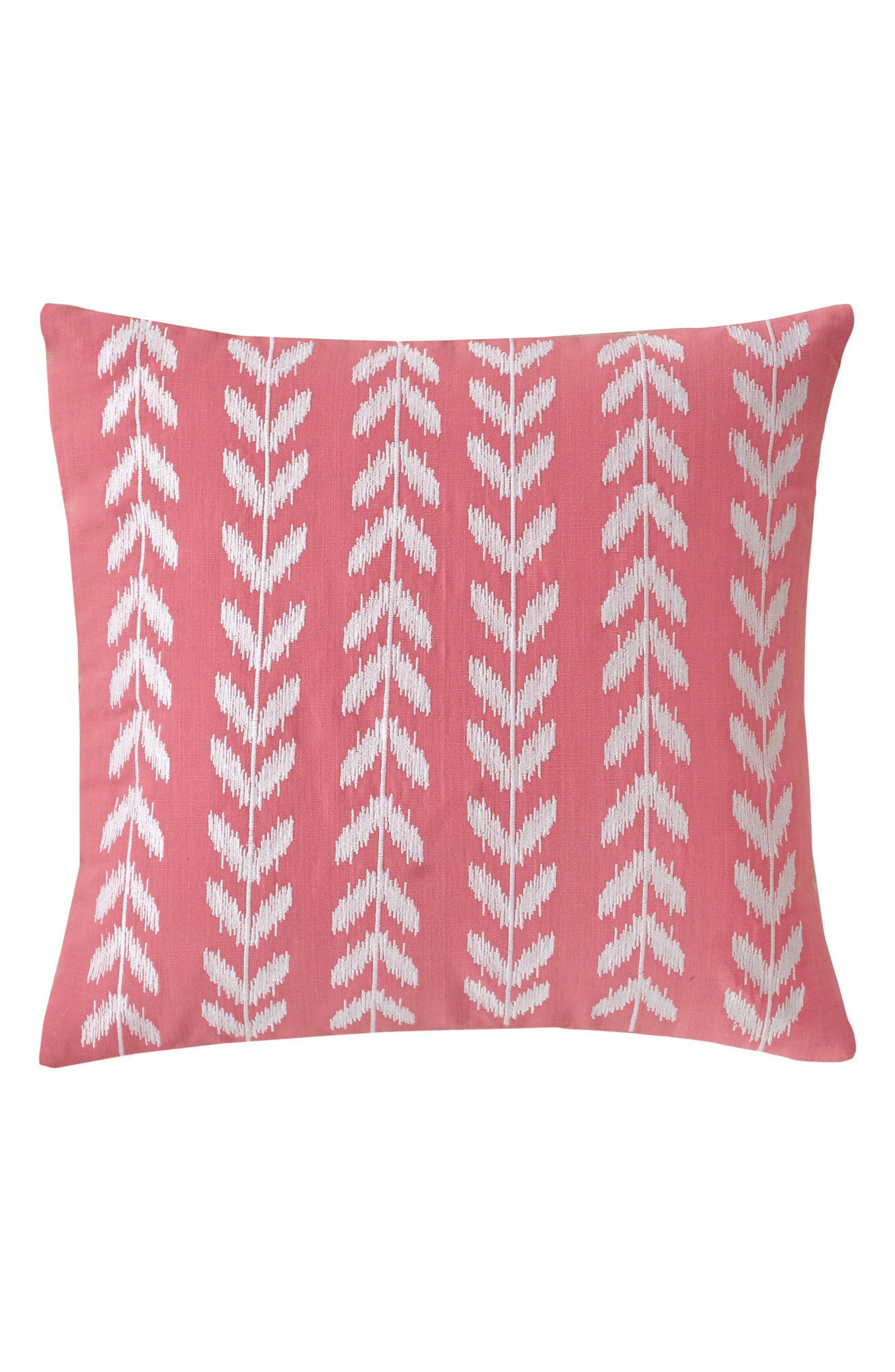 Southern Tide Coastal Ikat Heart Deco Accent Pillow