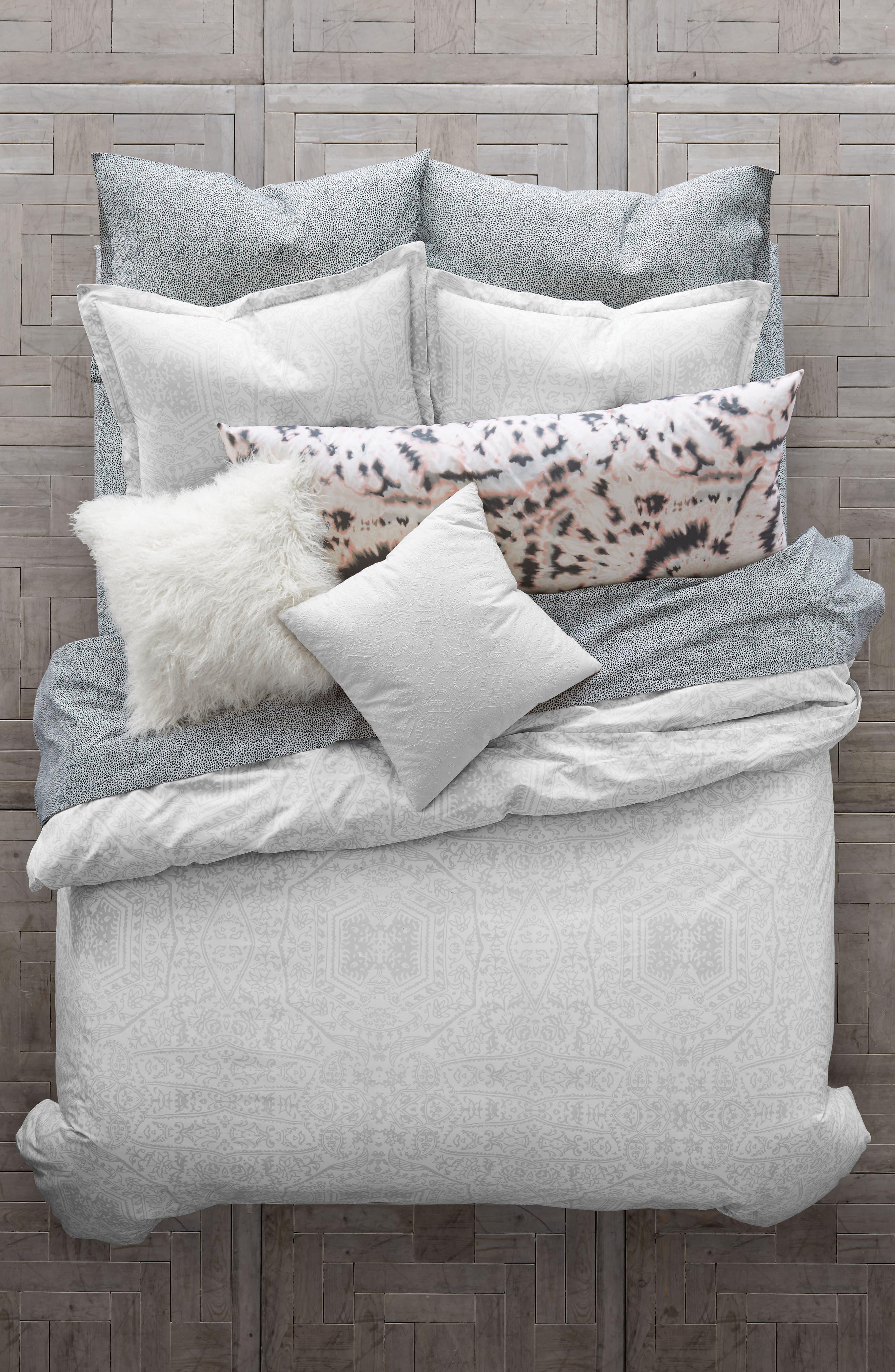 Alternate Image 1 Selected - BCBGeneration Chantilly Lace Comforter & Sham Set