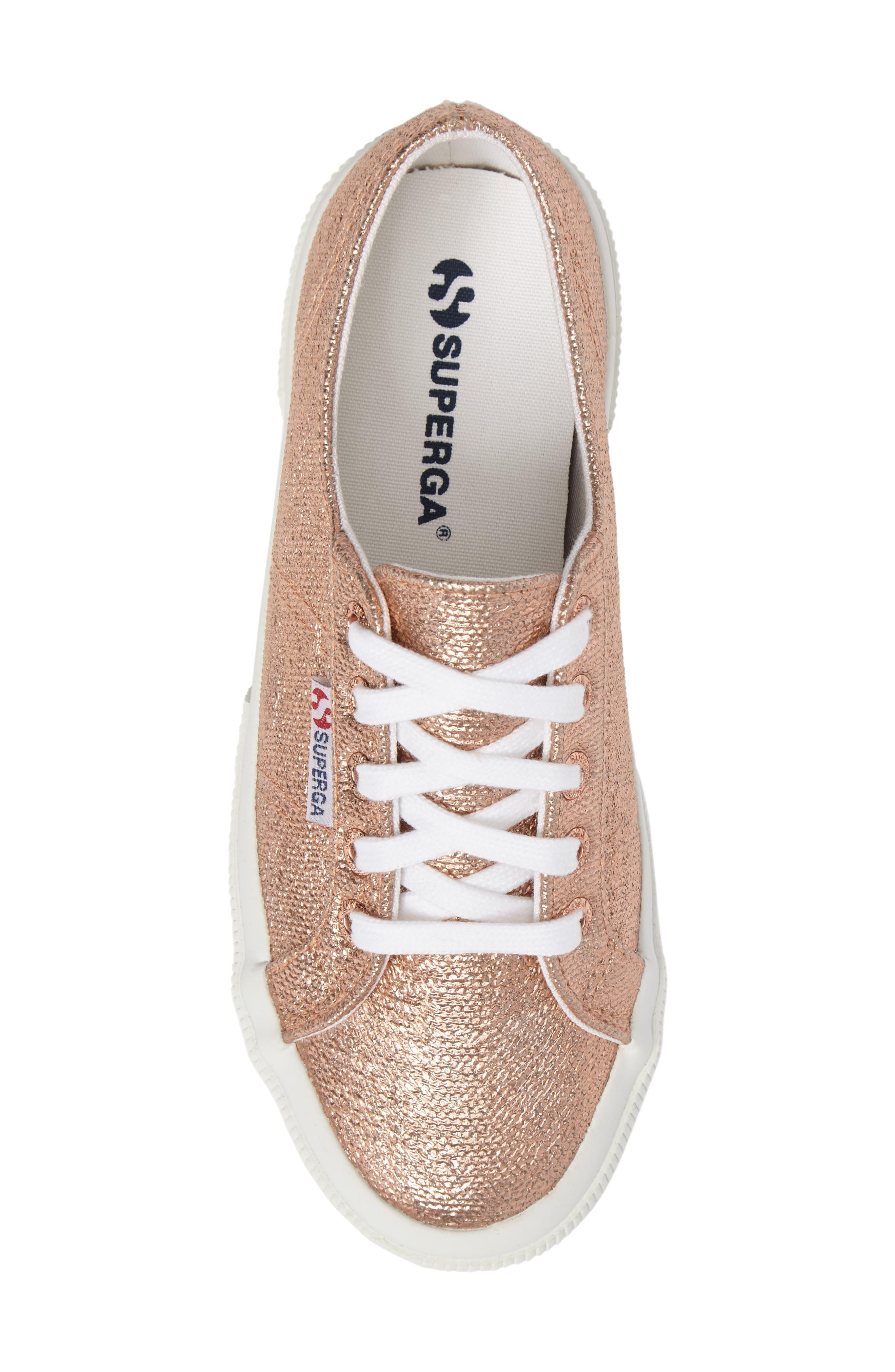 Alternate Image 5  - Superga 2750 Metallic Sneaker (Women)