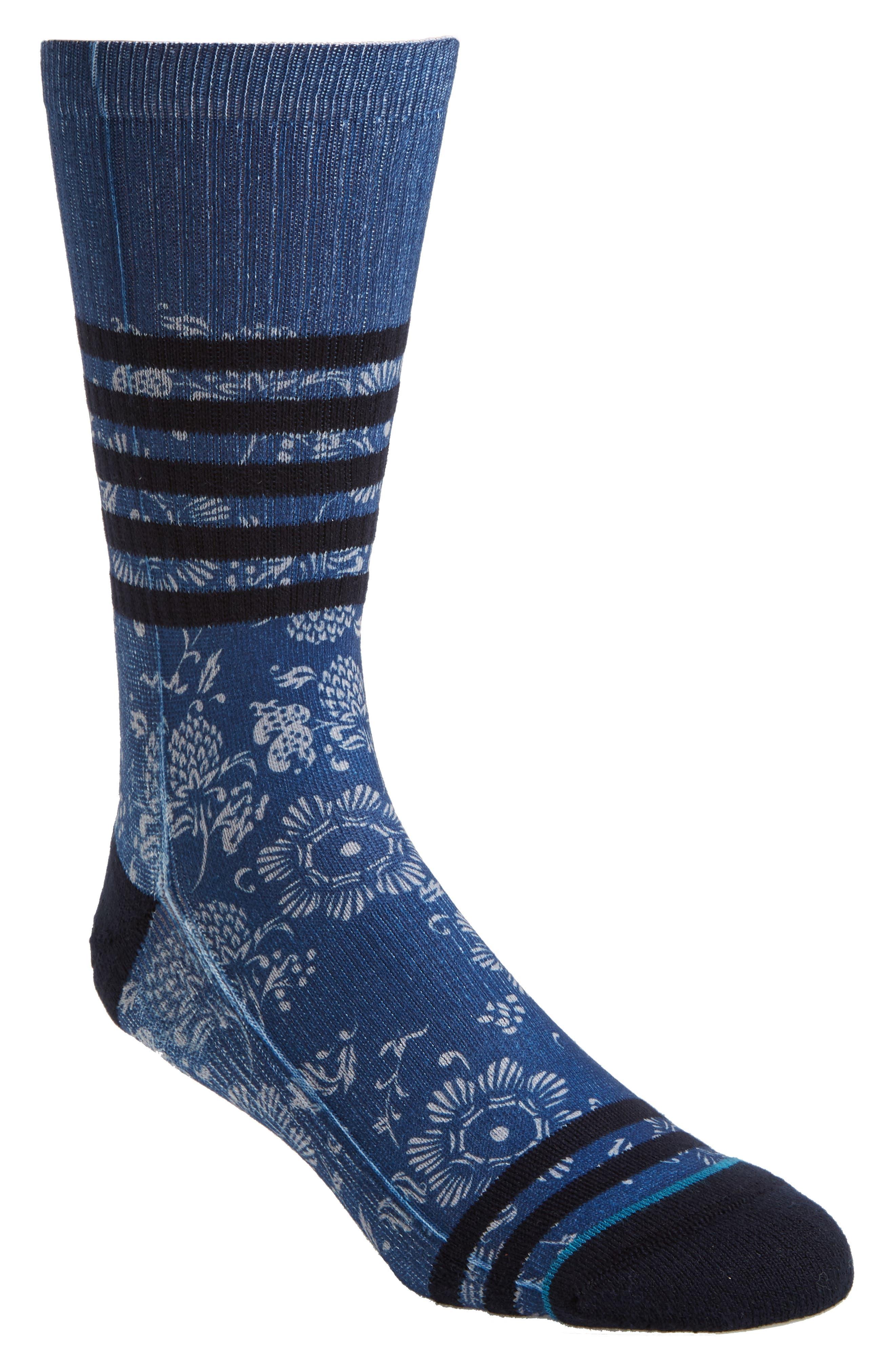 Briar Socks,                             Main thumbnail 1, color,                             Periwinkle