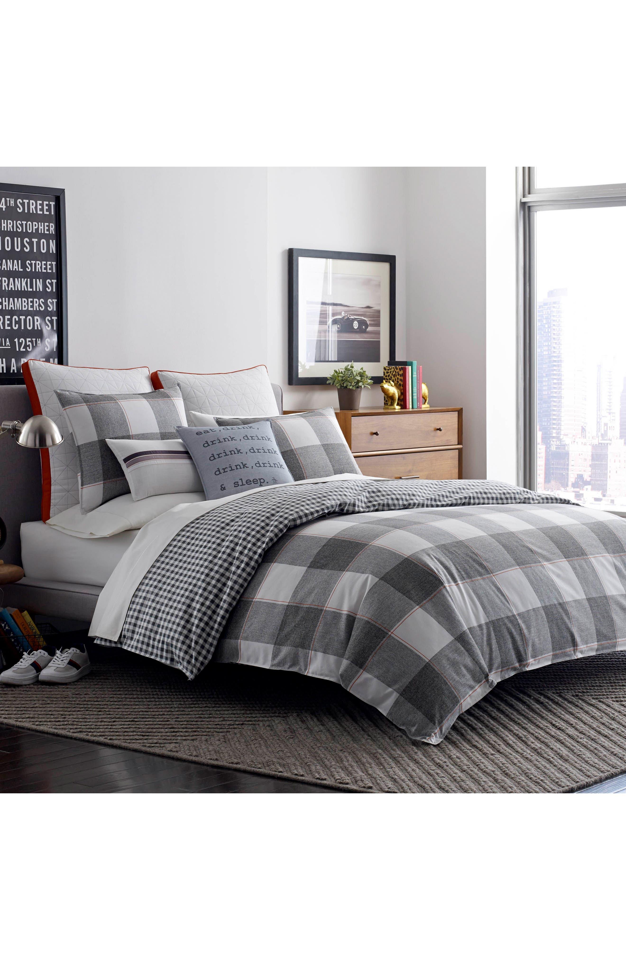 Alternate Image 2  - Original Penguin Flynn Comforter & Sham Set