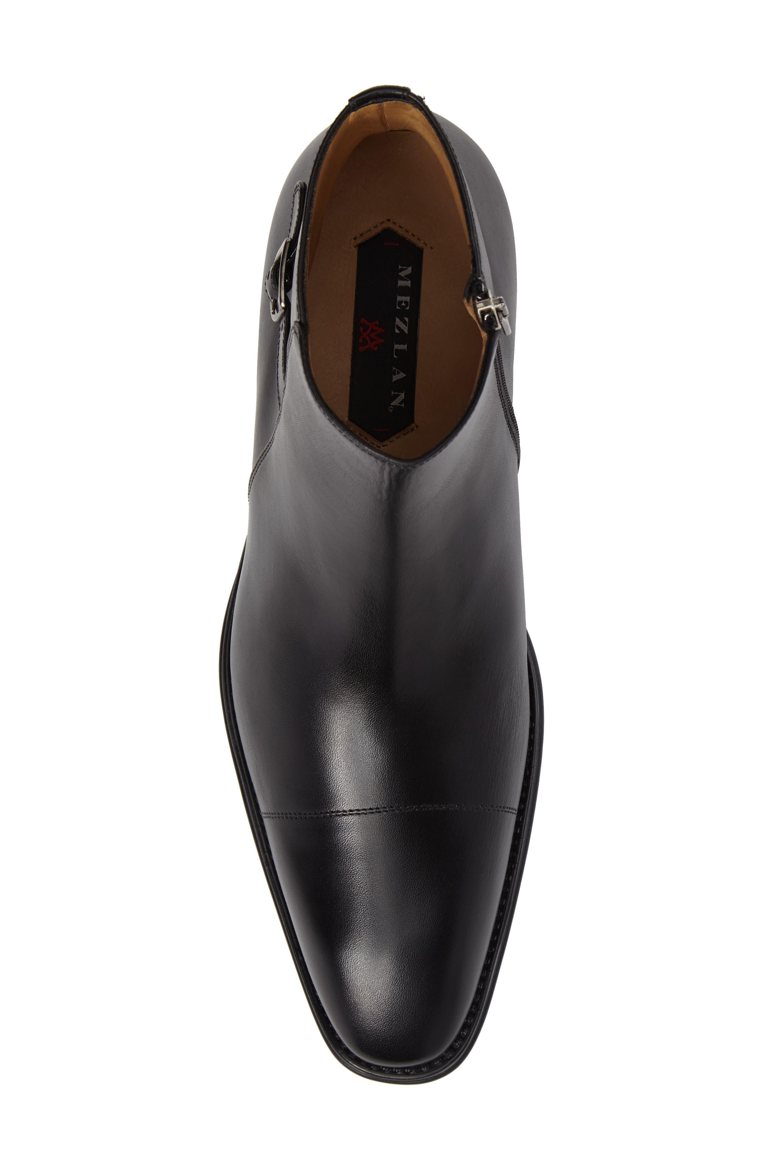 Casares II Zip Boot,                             Alternate thumbnail 5, color,                             Black