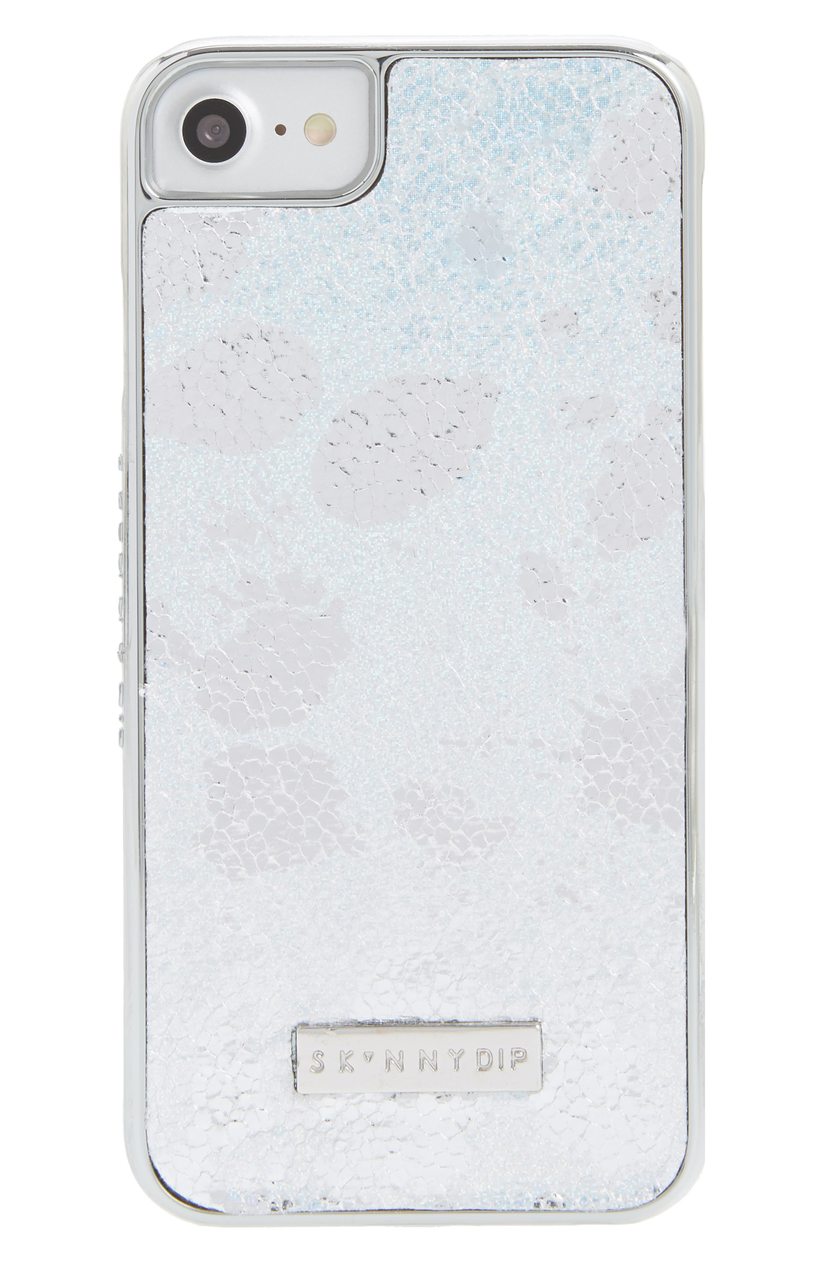 Arizona iPhone 6/7 & 6/7 Plus Case,                         Main,                         color, Silver