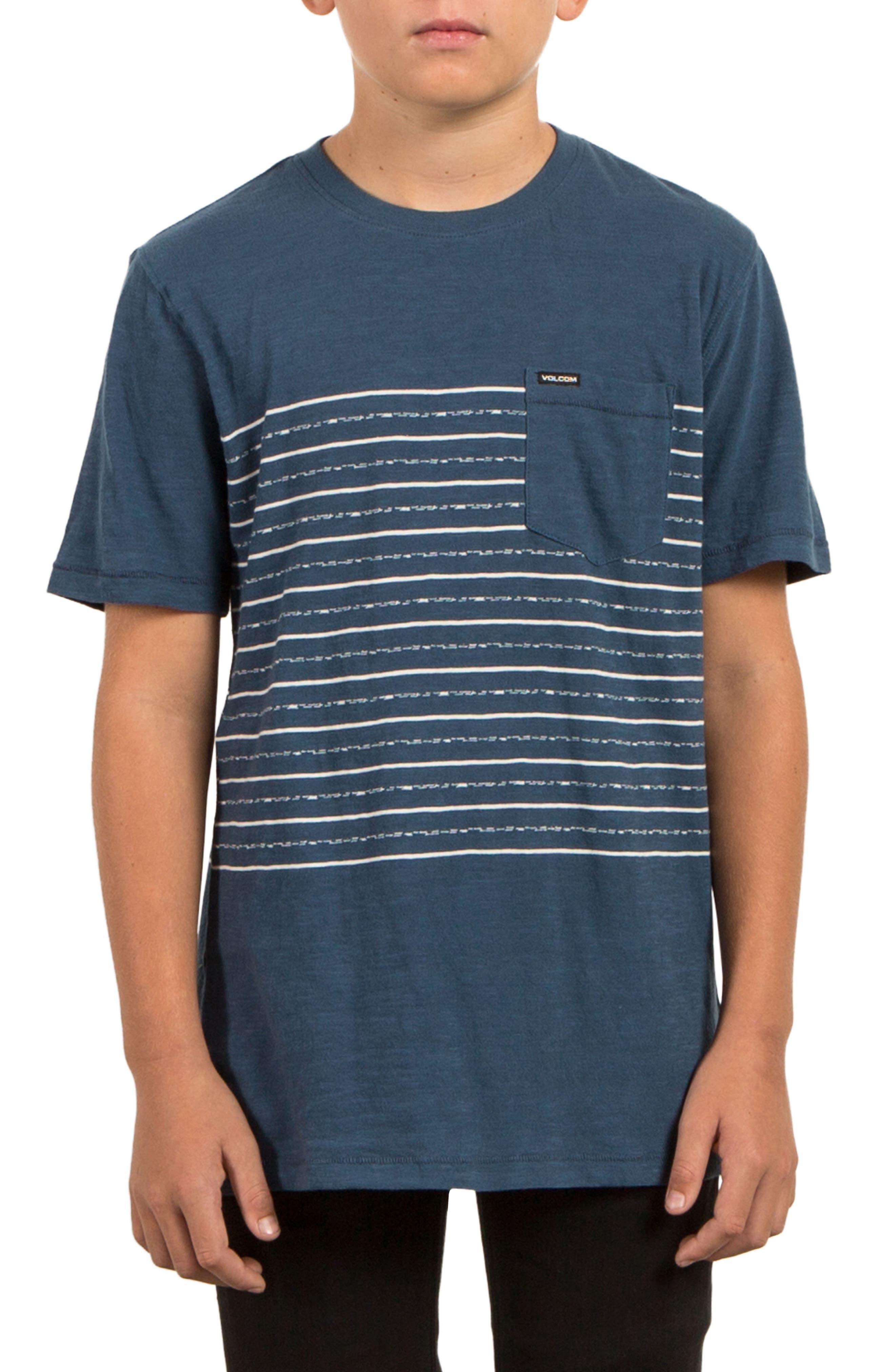 Volcom Threezy Pocket T-Shirt (Big Boys)