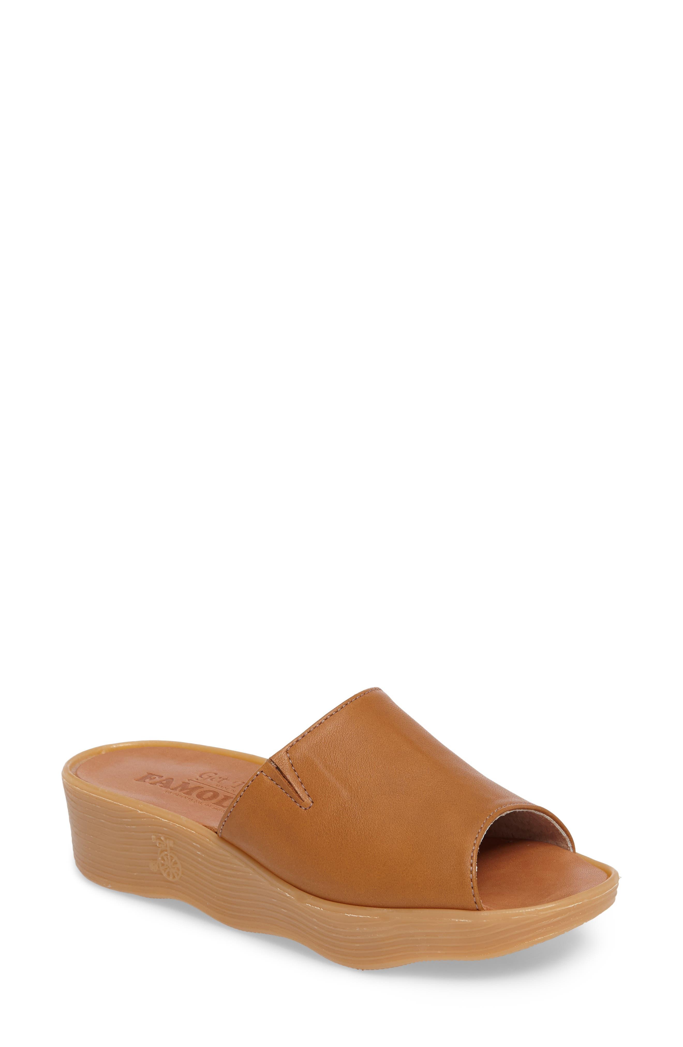 Alternate Image 1 Selected - Famolare Slide N Sleek Wedge Slide Sandal (Women)