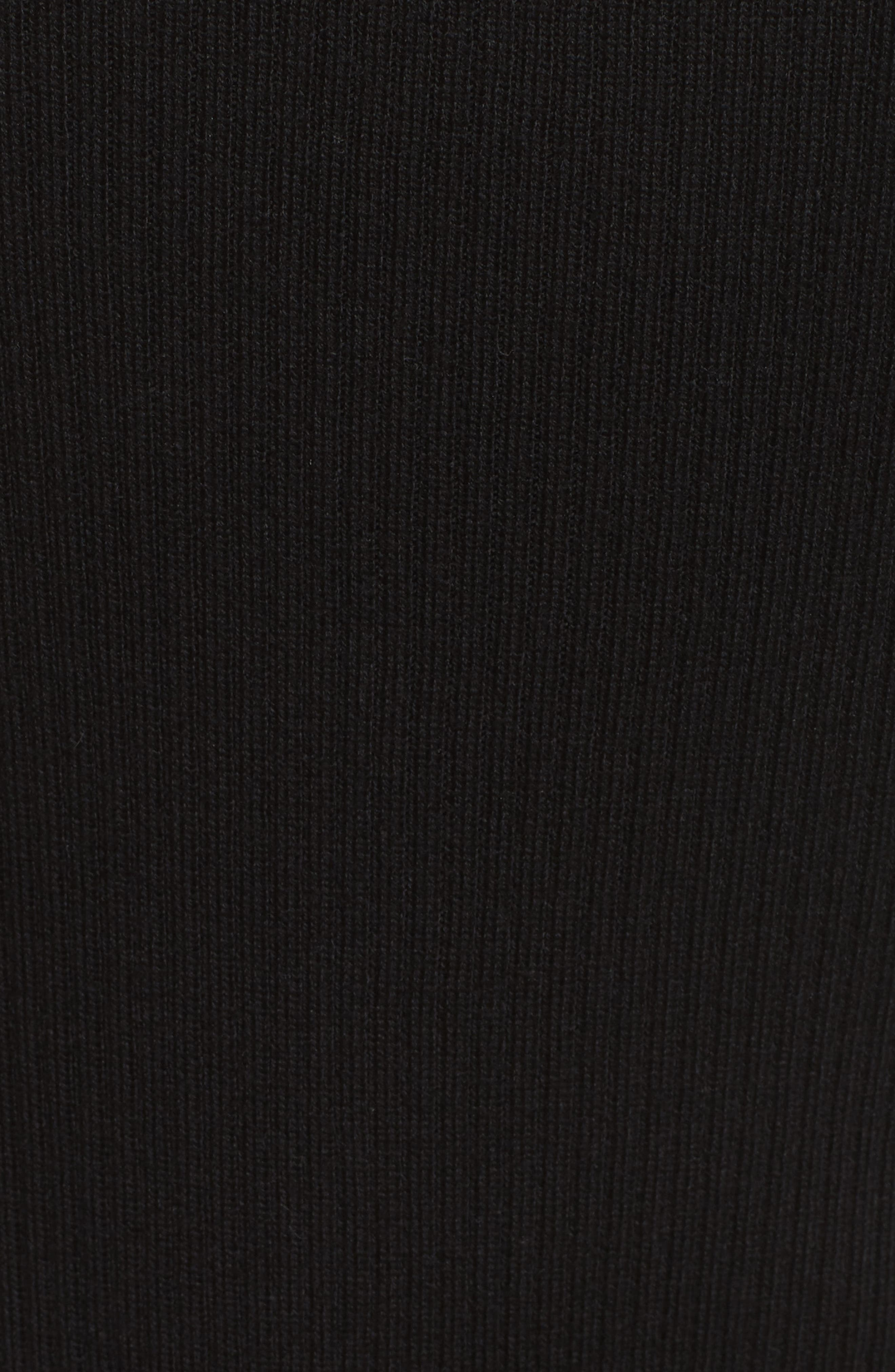Off the Shoulder Sweater,                             Alternate thumbnail 6, color,                             Noir