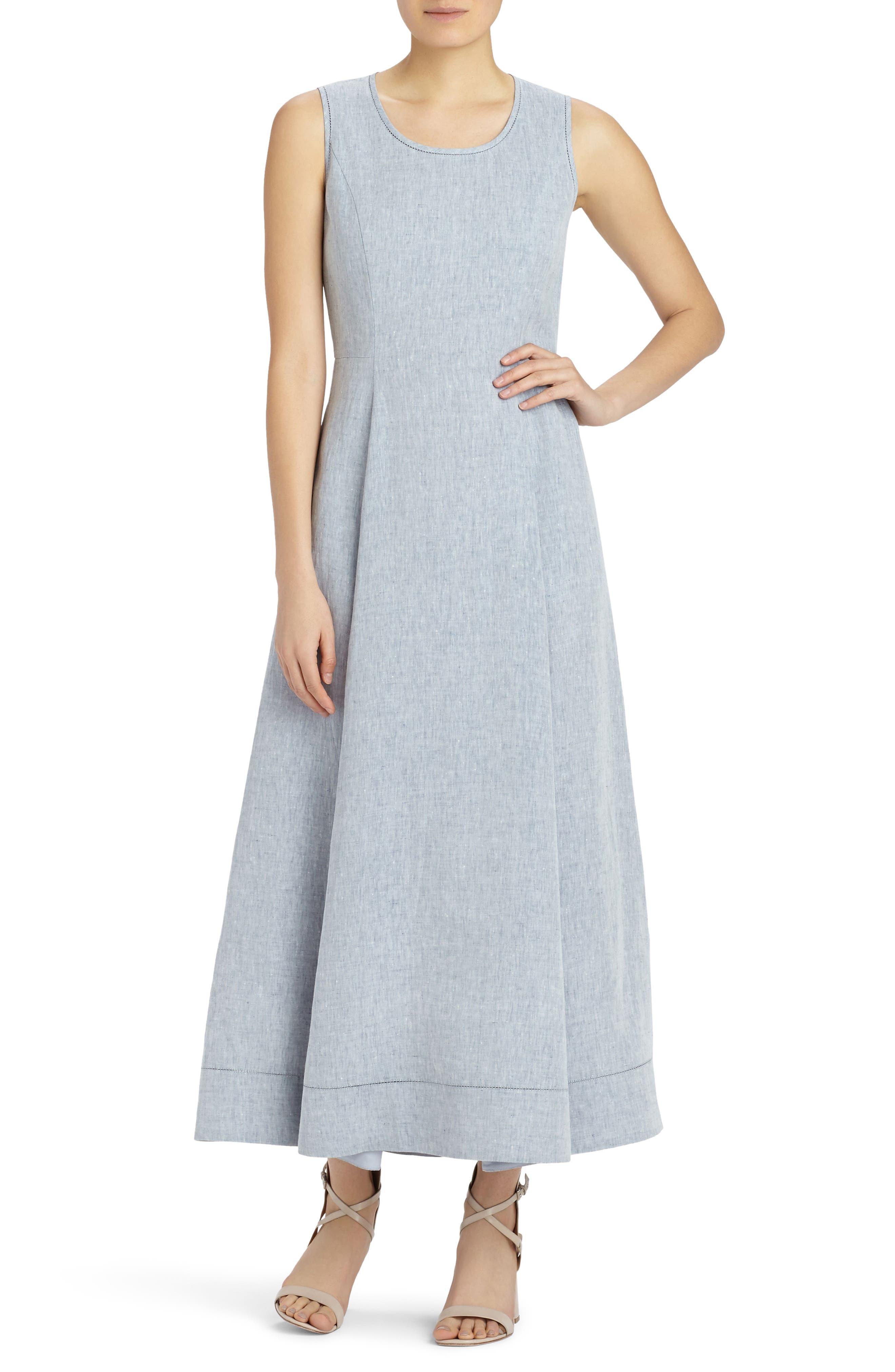 Lafayette 148 New York Carressa Linen Dress