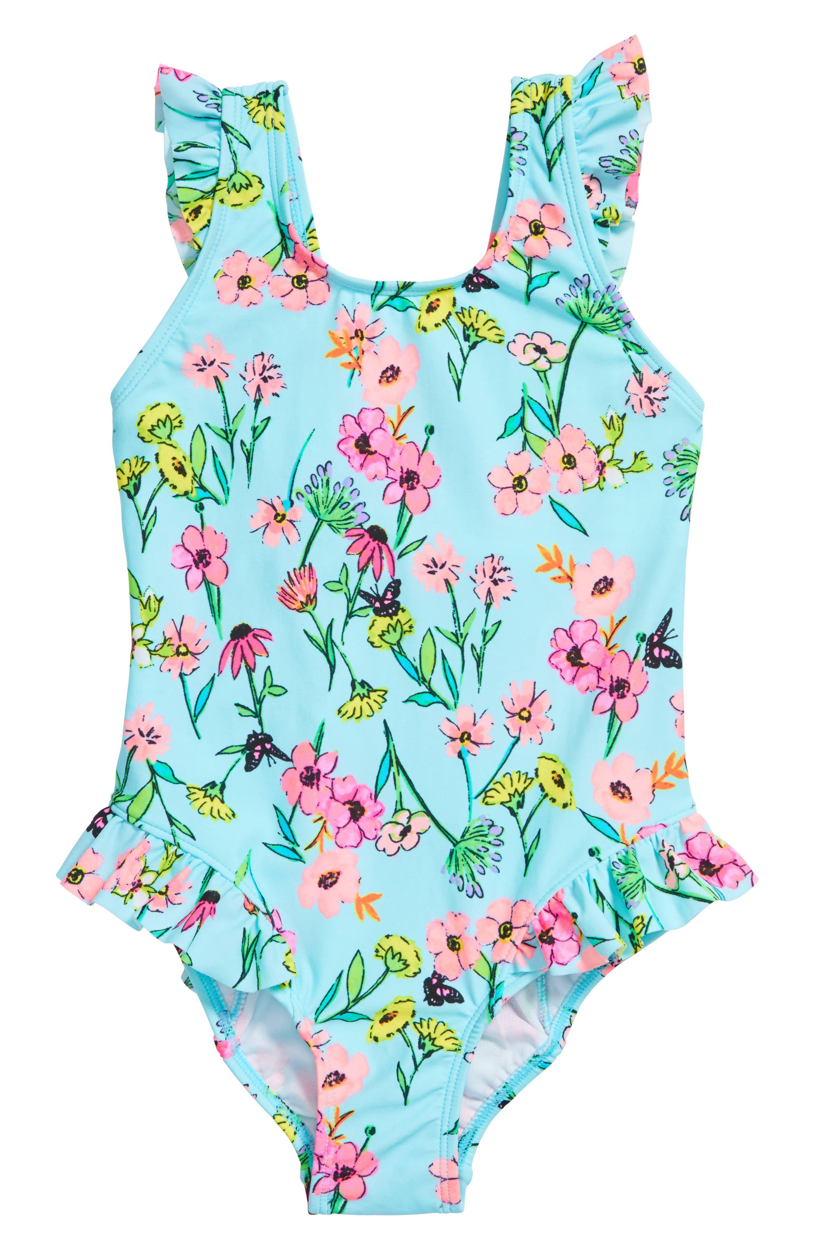 Hula Star Fairy Garden One-Piece Swimsuit (Toddler Girls & Little Girls)
