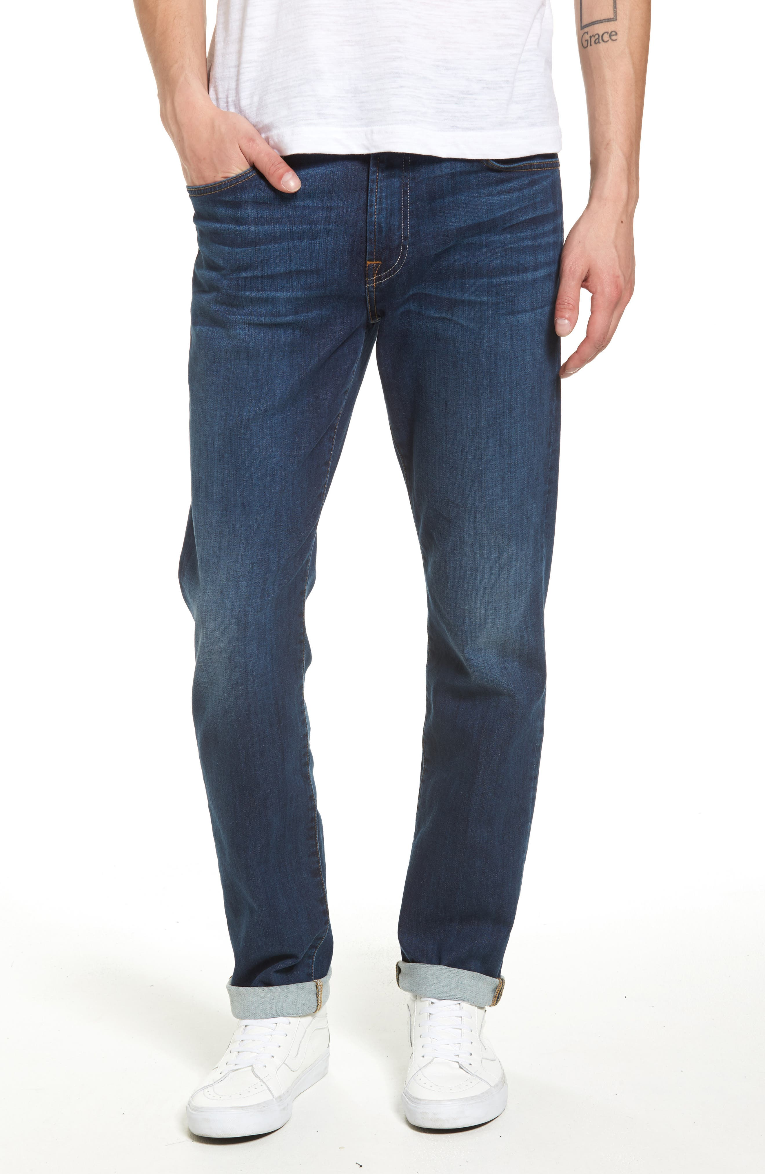 7 FOR ALL MANKIND<SUP>®</SUP> Slimmy Slim Fit Jeans
