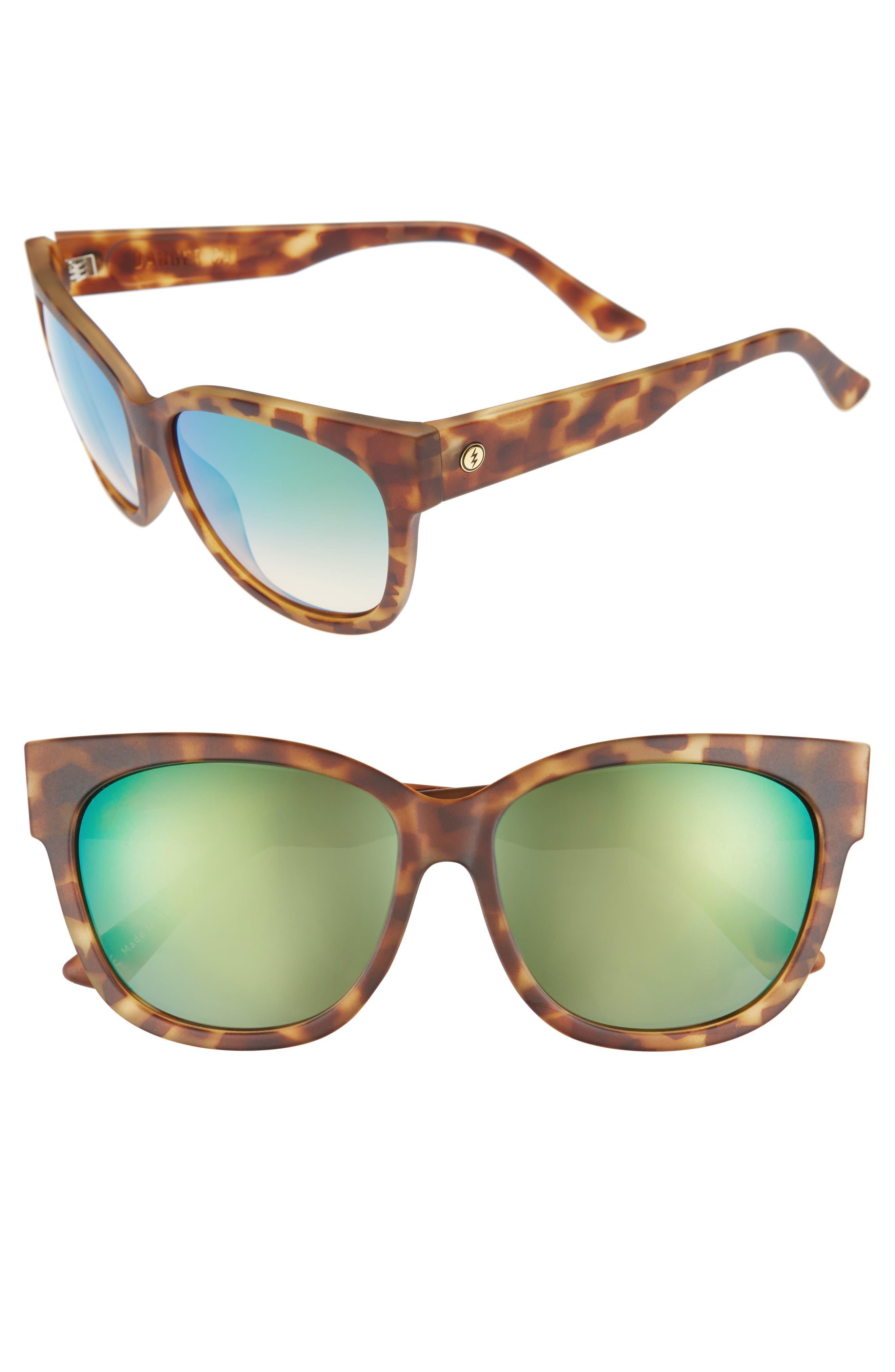 ELECTRIC Danger Cat 58mm Cat Eye Sunglasses