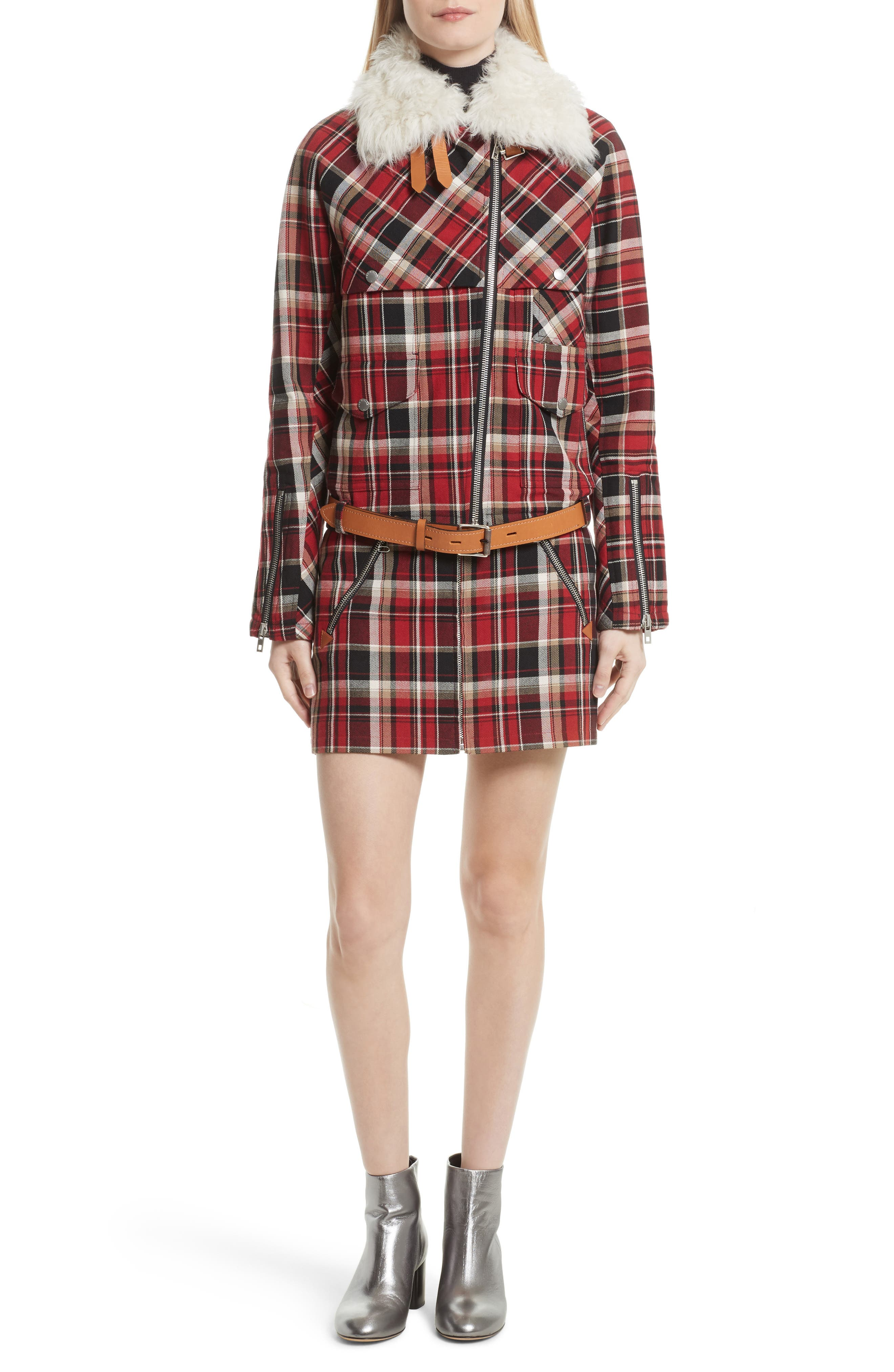 Alternate Image 2  - rag & bone Leah Plaid Skirt