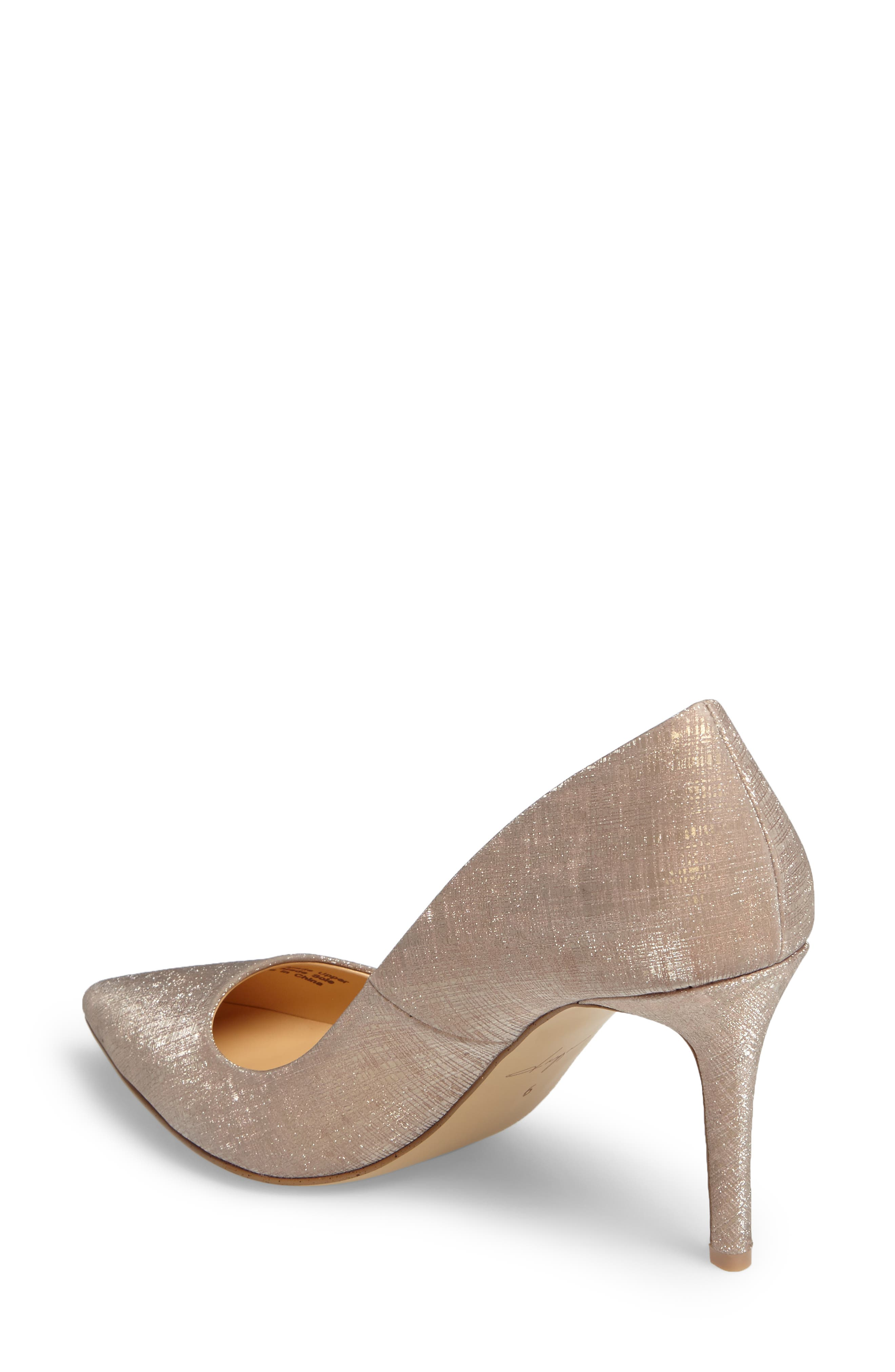 by Zendaya Nycole Metallic Pump,                             Alternate thumbnail 2, color,                             Gold