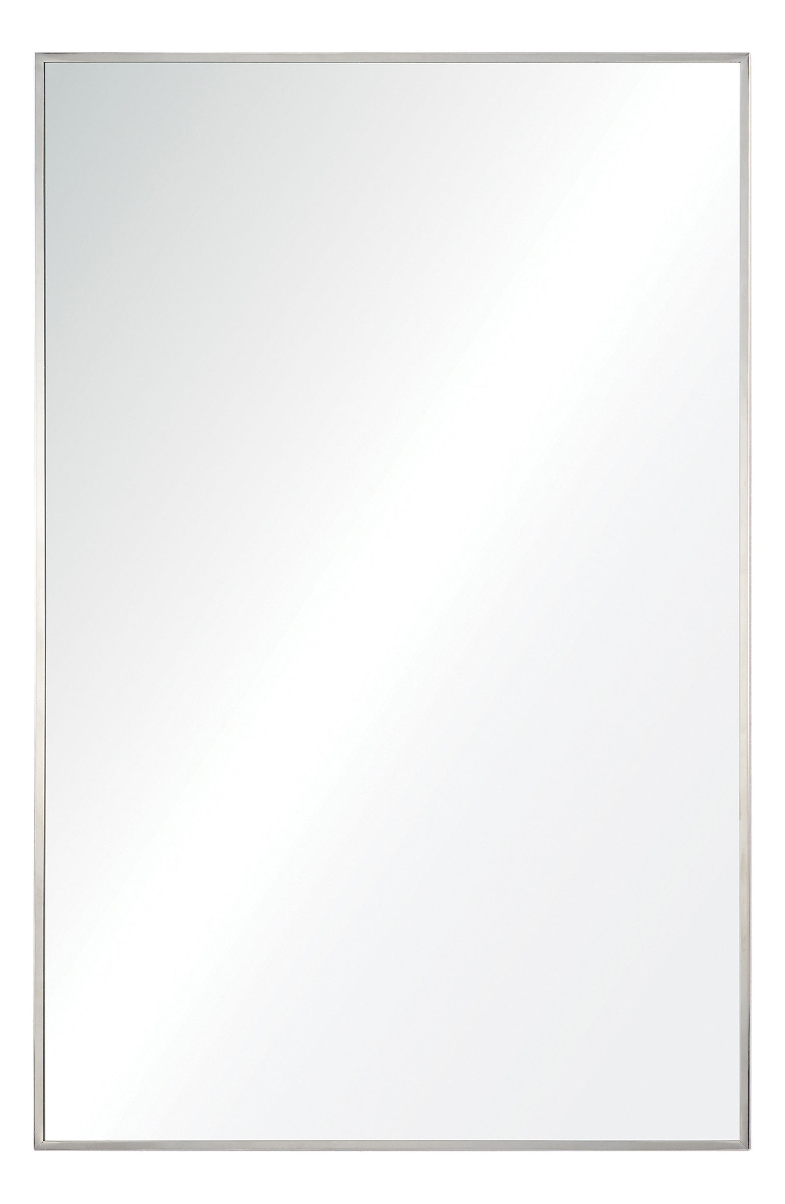 Crake Mirror,                             Main thumbnail 1, color,                             Stainless Steel