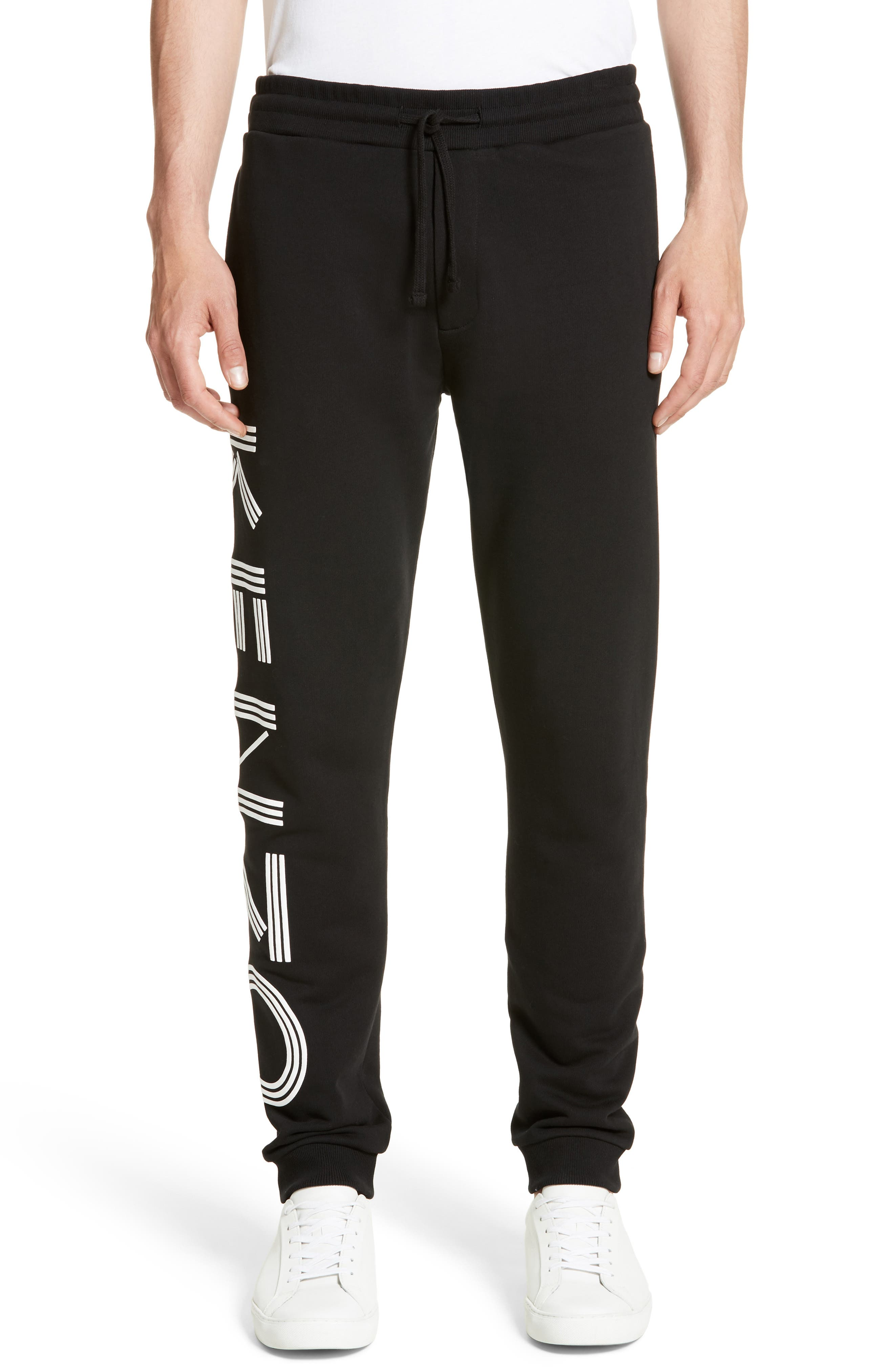 Logo Jogger Pants,                         Main,                         color, Black