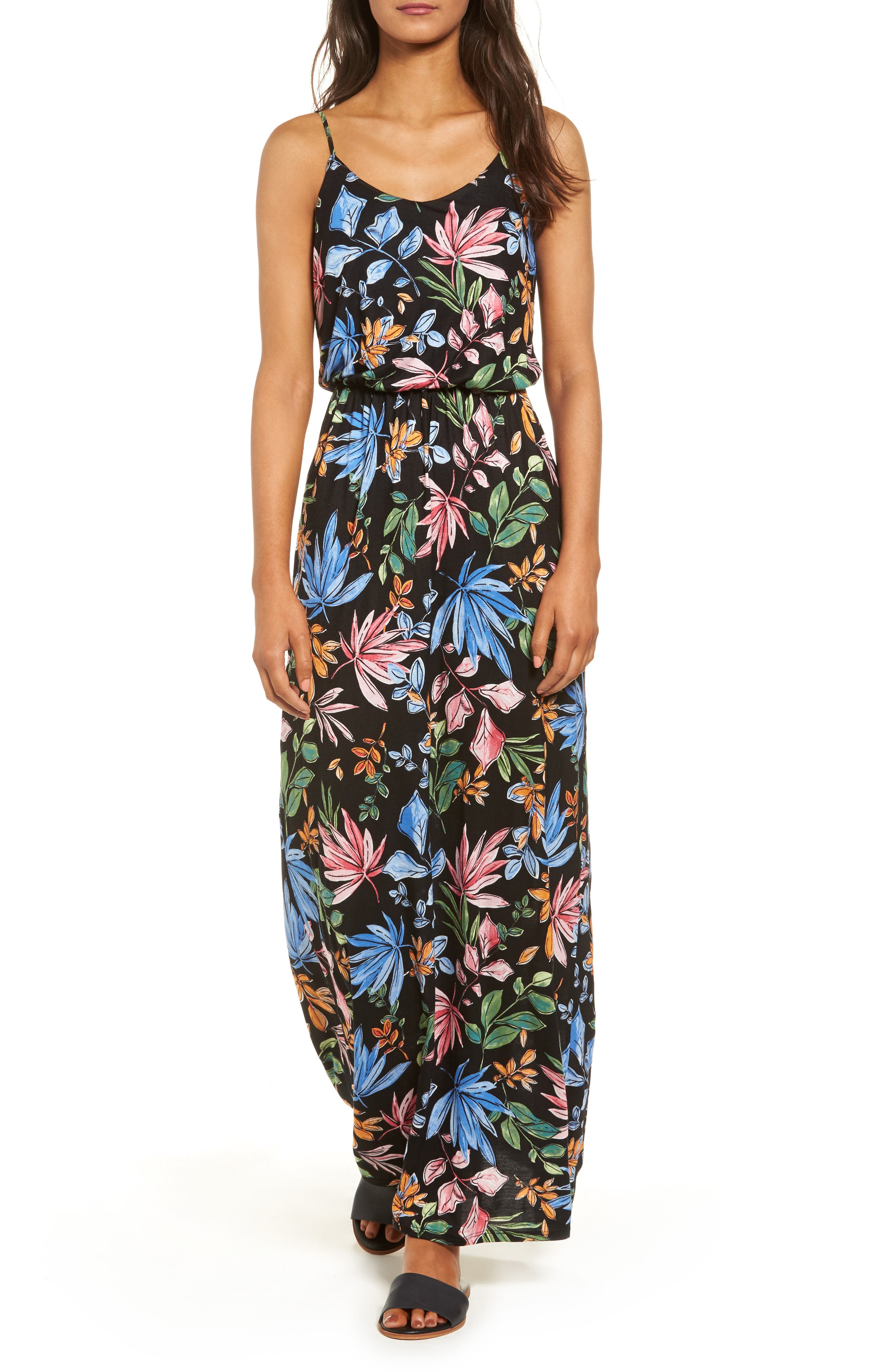 Main Image - Lush Knit Maxi Dress