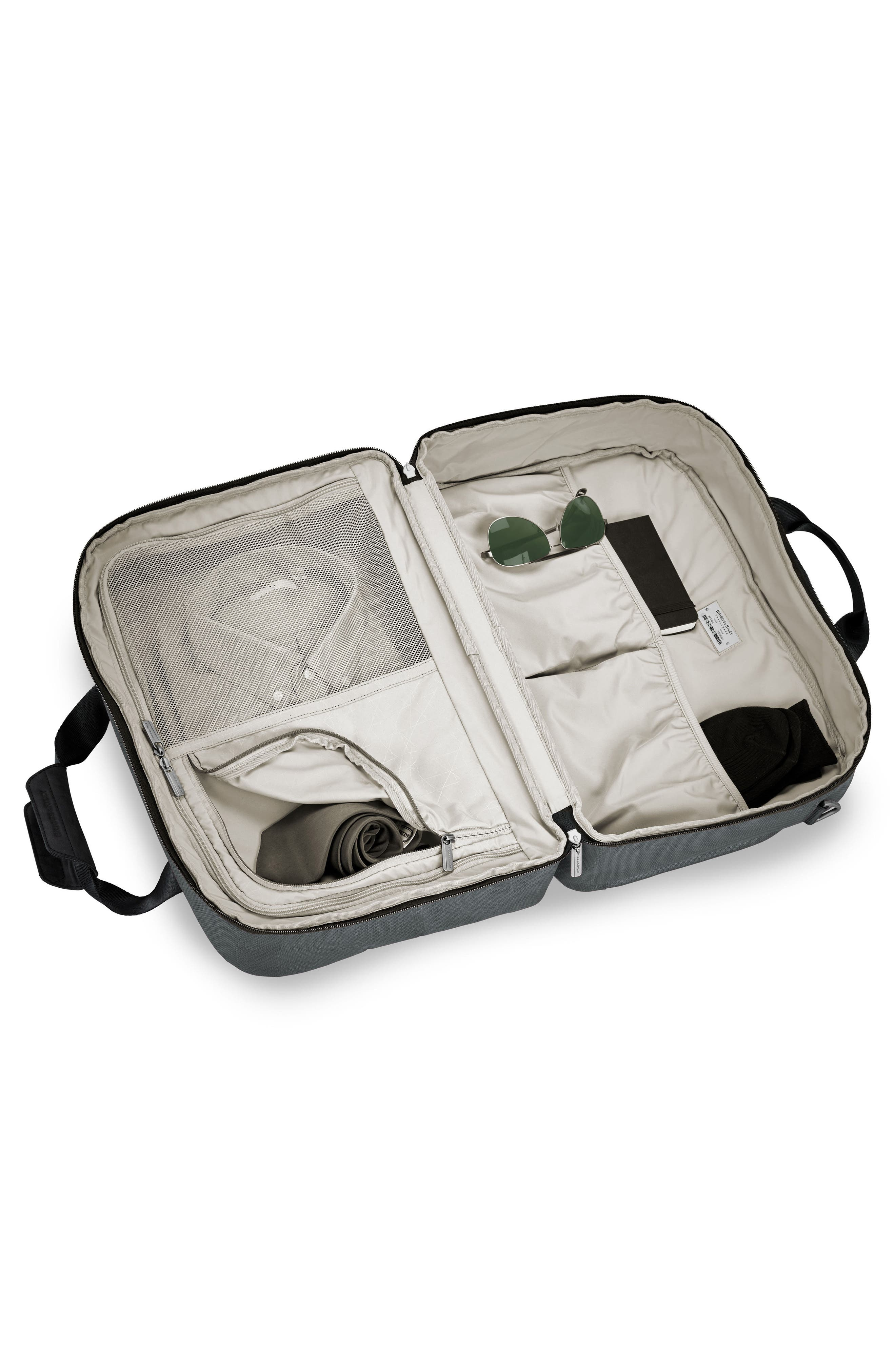 Transcend 400 Cabin Bag,                             Alternate thumbnail 3, color,                             Slate Grey